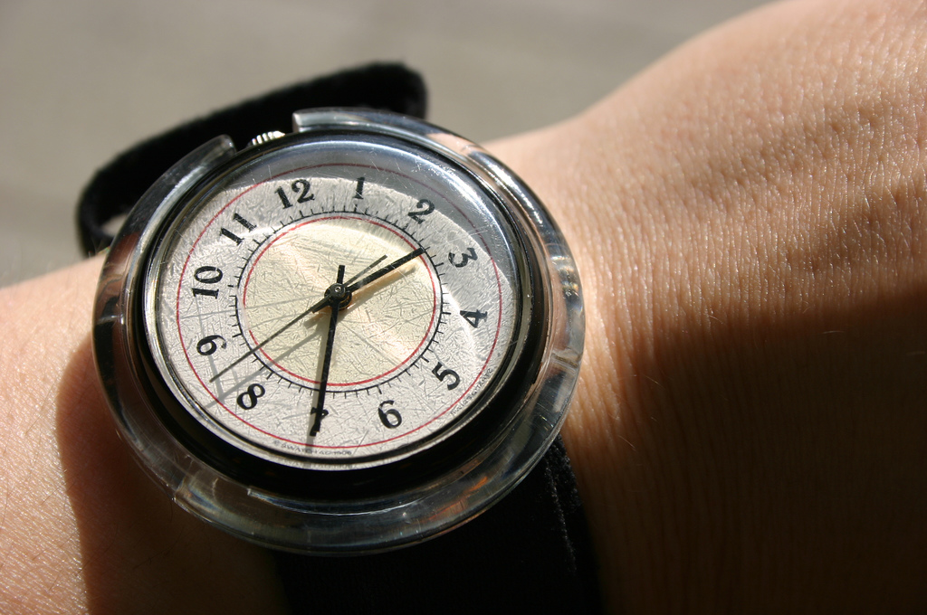 Wristwatch-Face-Time