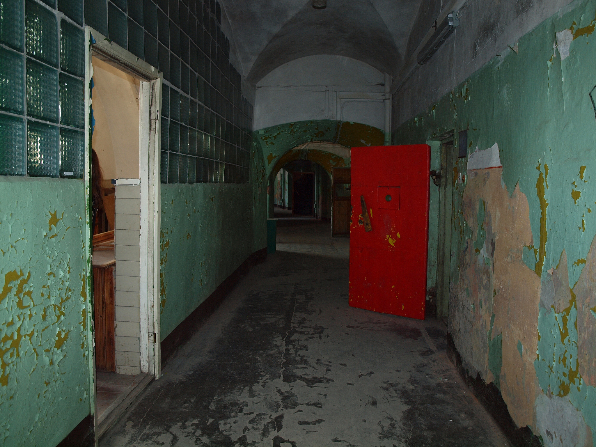 Desolate hallways are a Patarei Prison hallmark. Image credit:    Anita   /Flickr