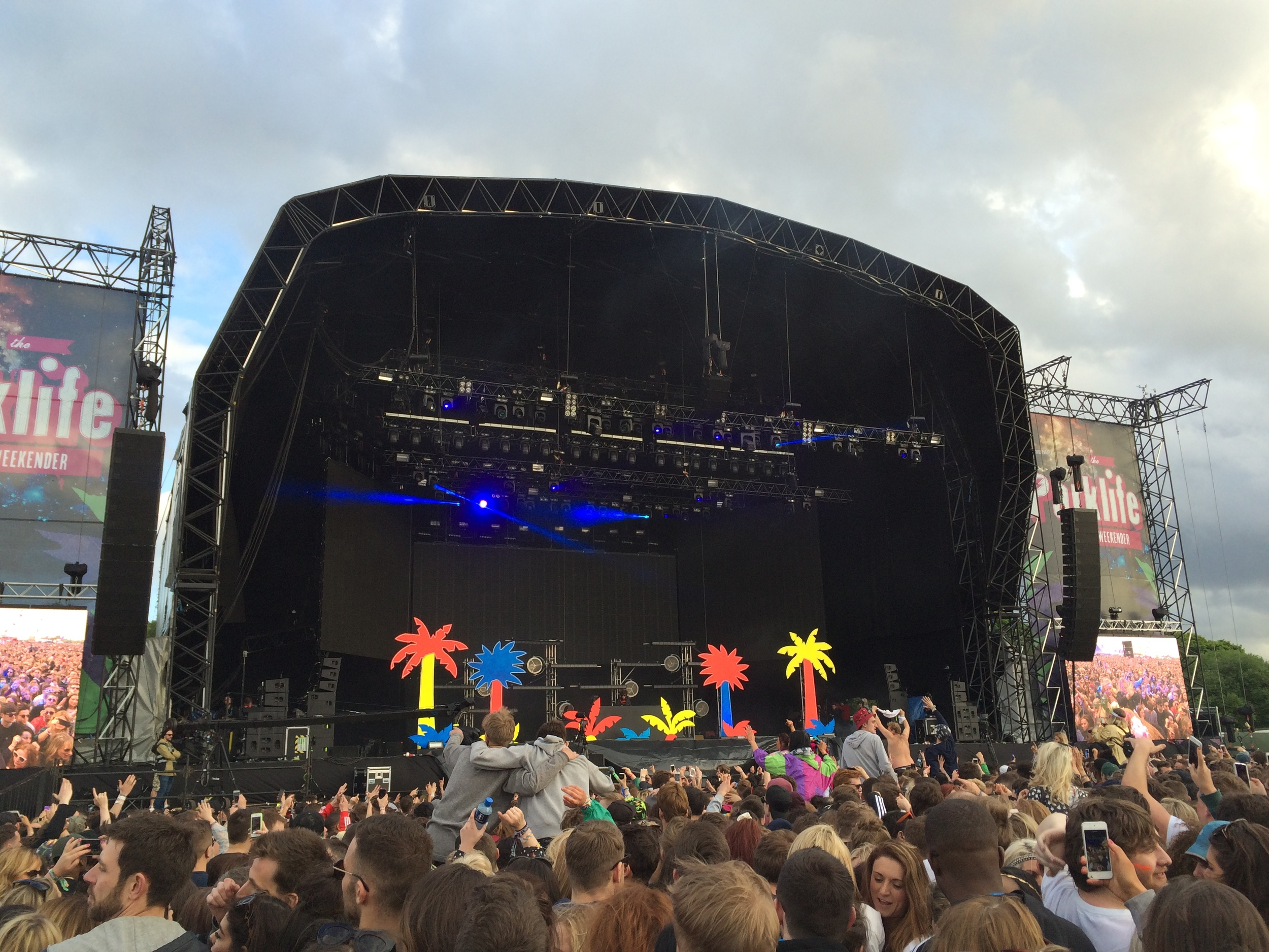Heaton Park in its Parklife setup in June 2015.