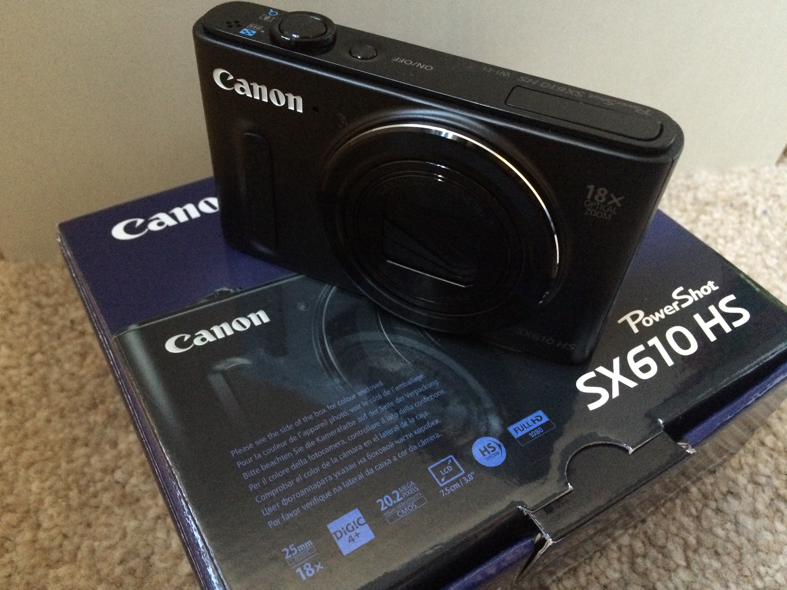 It may not be the S110 or the S120, but the Canon PowerShot SX610 HS seemed like a great alternative.