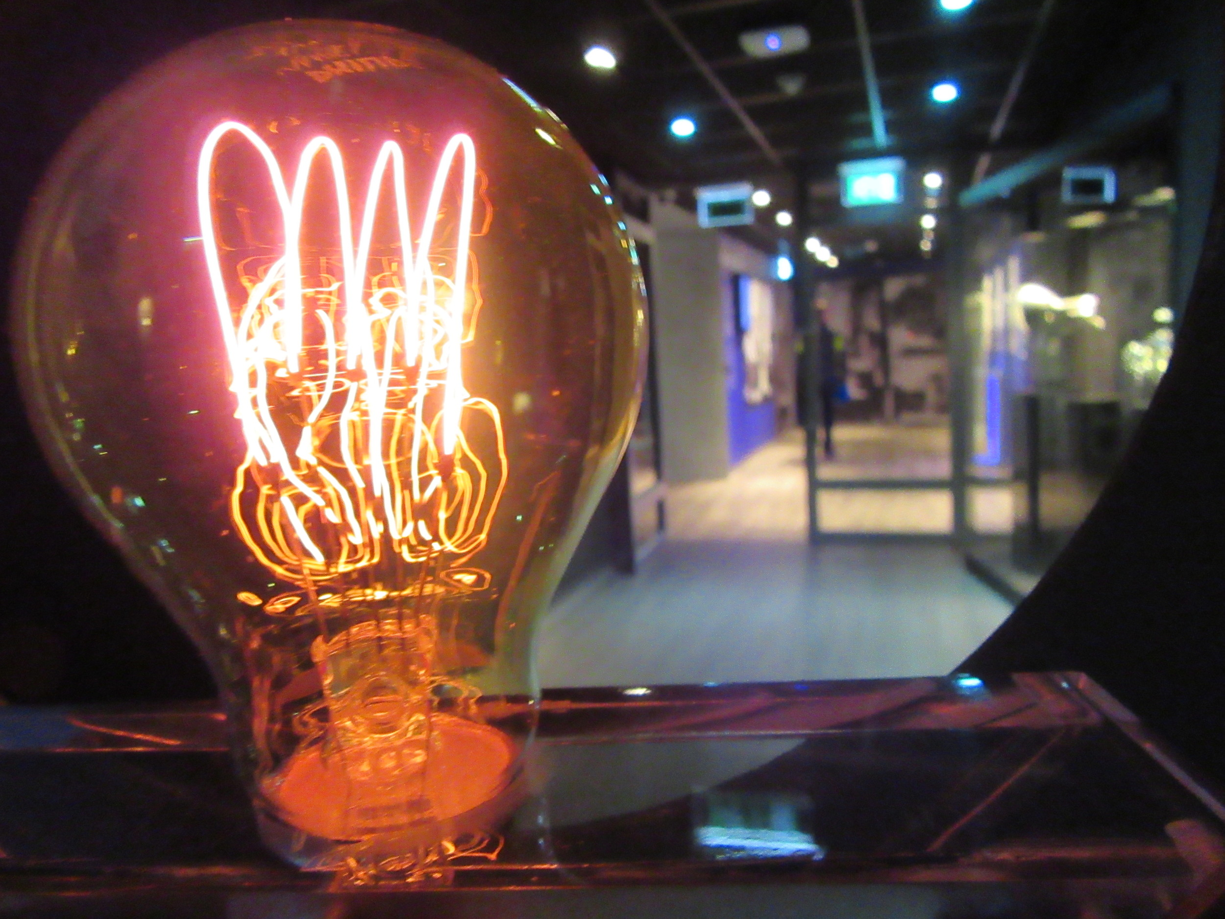 Philips were one of the first mass-producers of the light bulb.