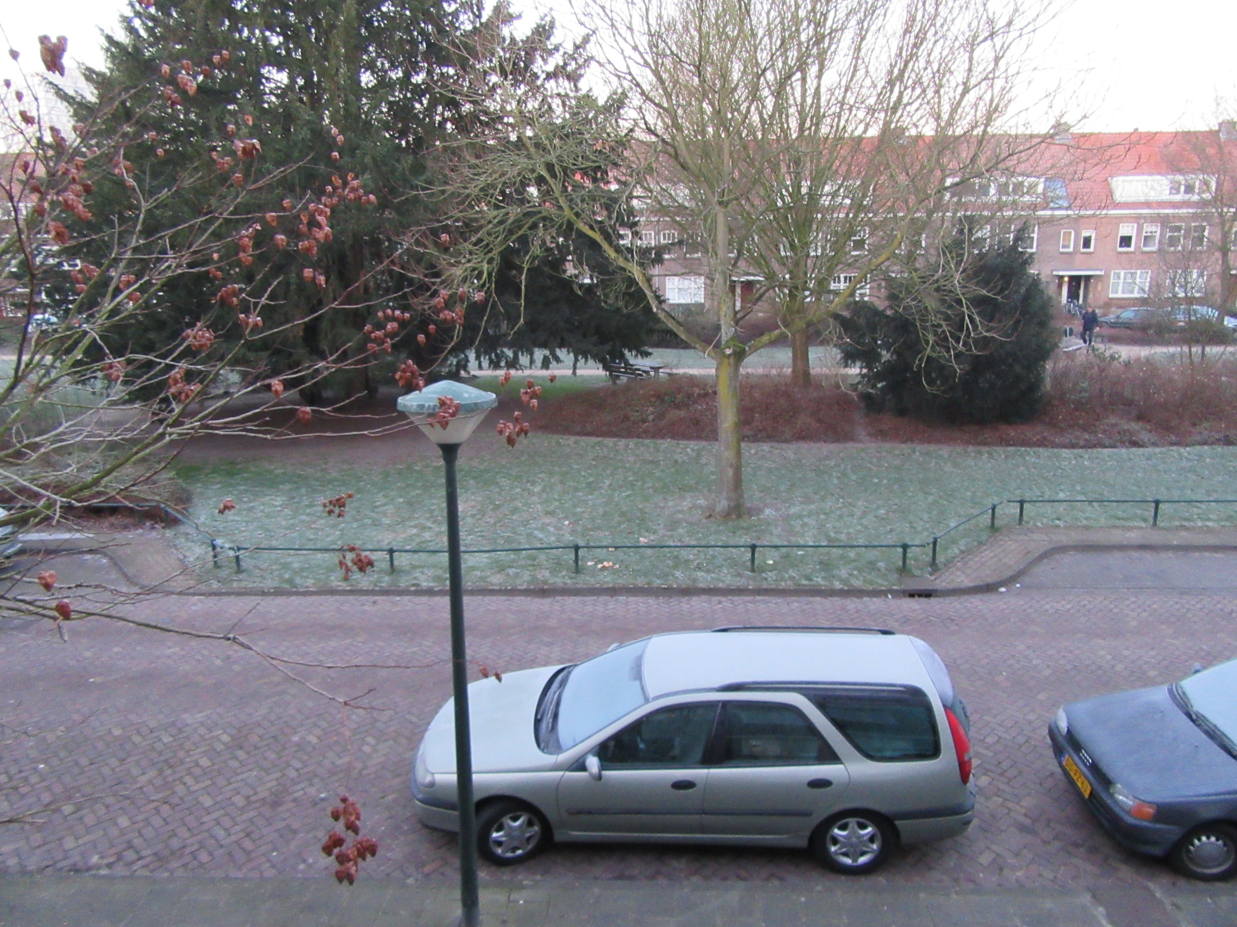 The view from my room at the front of the house we stayed in.
