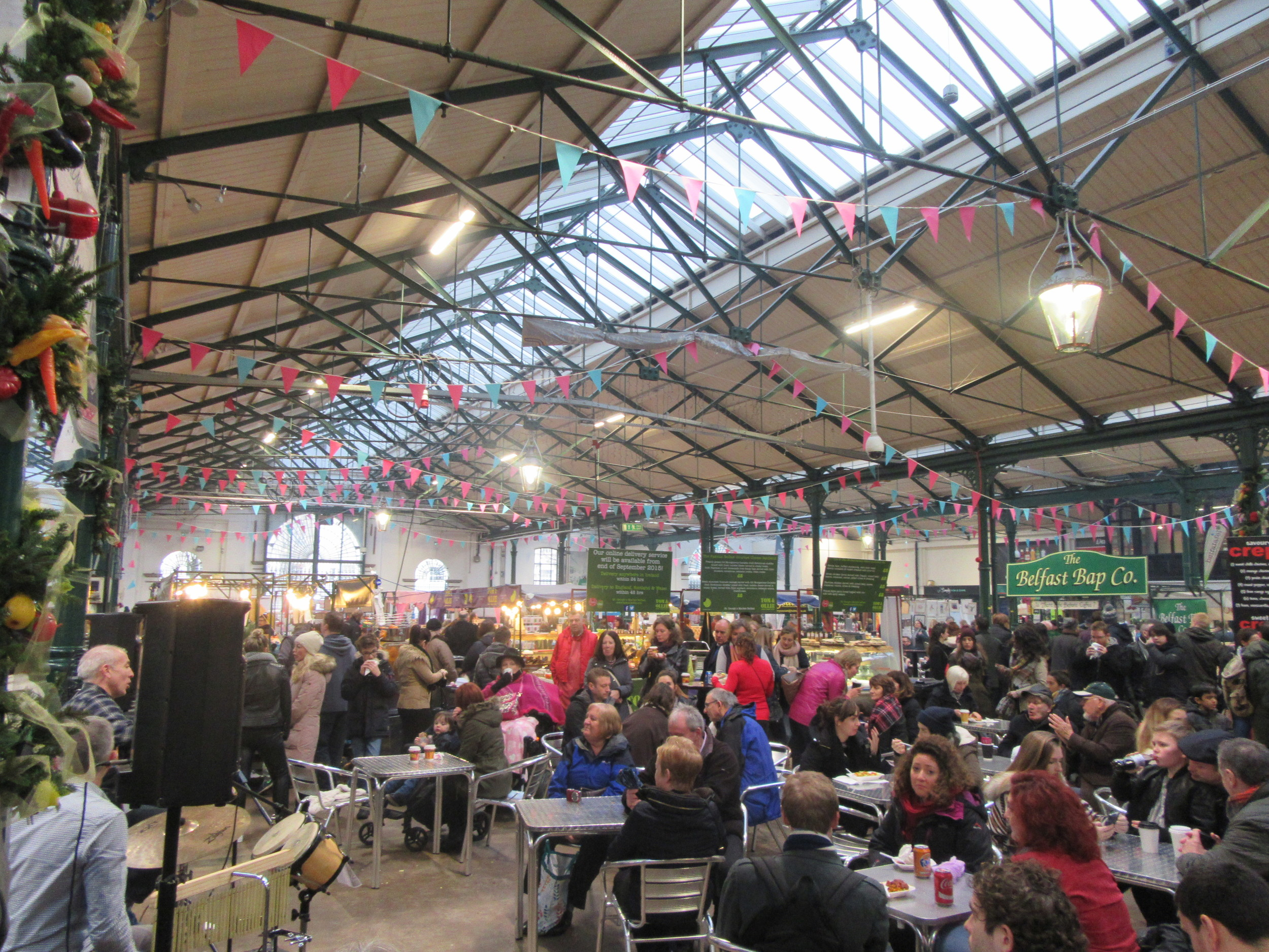St George's Market won Large Indoor Market of the Year in 2014.
