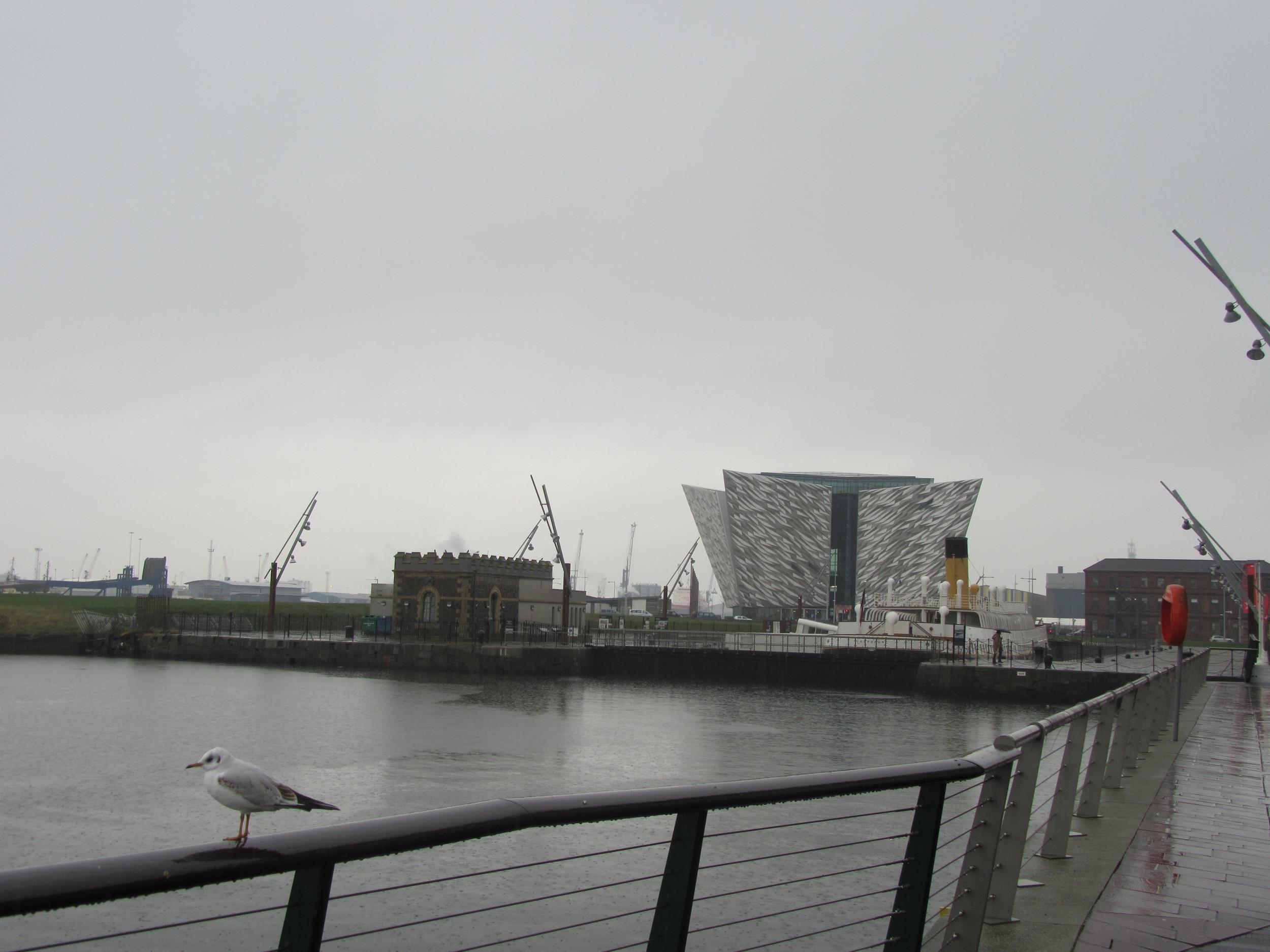 Titanic-Museum-Belfast-Northern-Ireland-Overcast