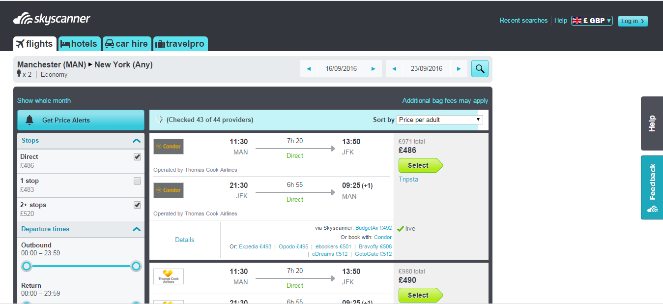 Skyscanner is useful, but it is not the be-all and end-all when it comes to booking flights online.