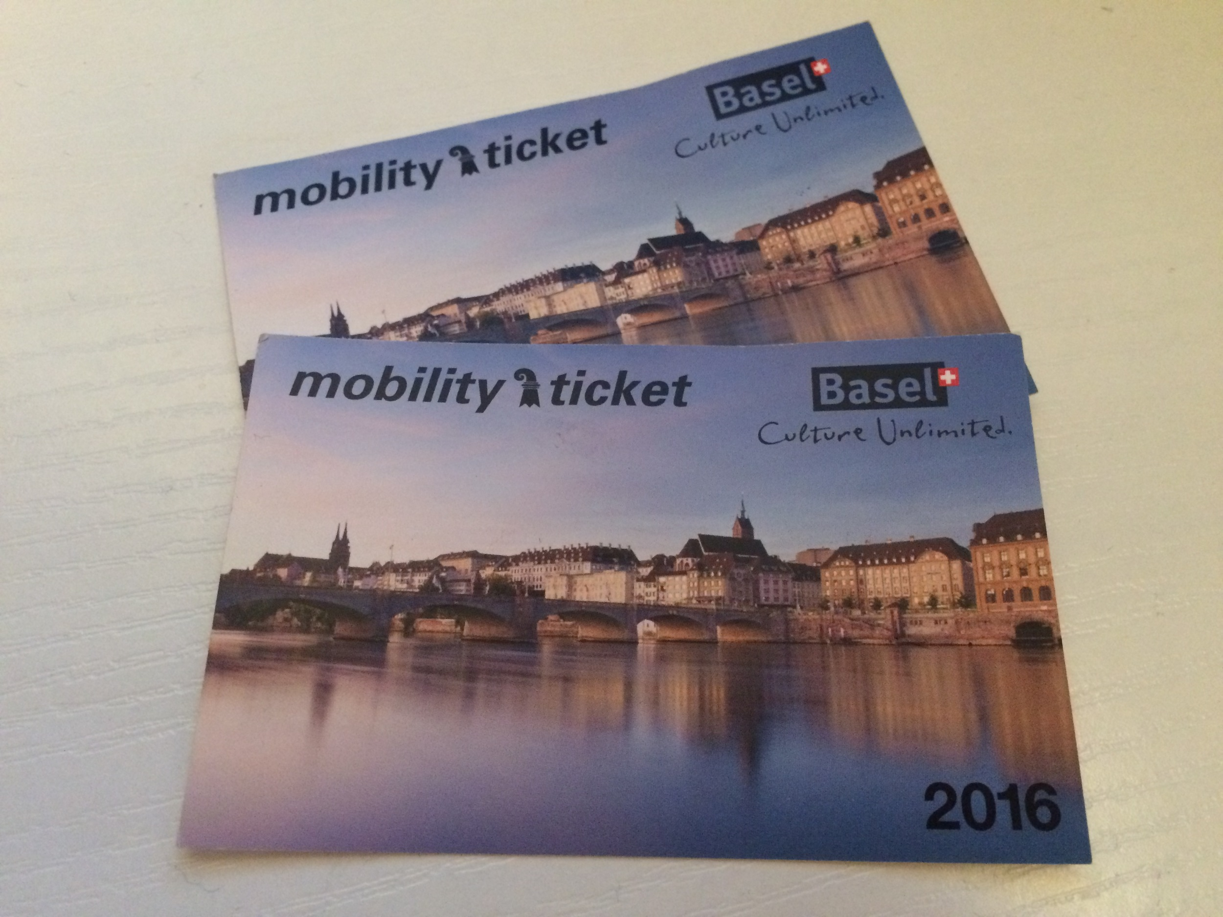 Our complimentary transport passes for Basel.