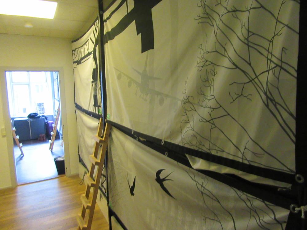 The bunk beds at Copenhagen Backpackers Hostel.