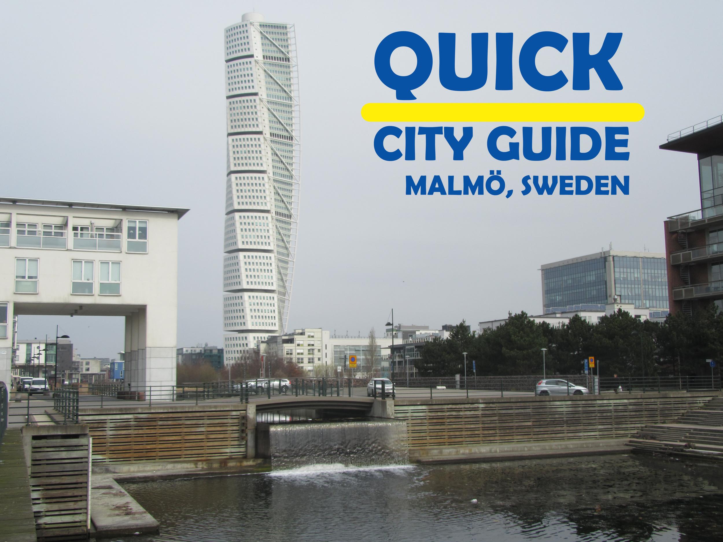 Quick-City-Guide-Malmo-Sweden