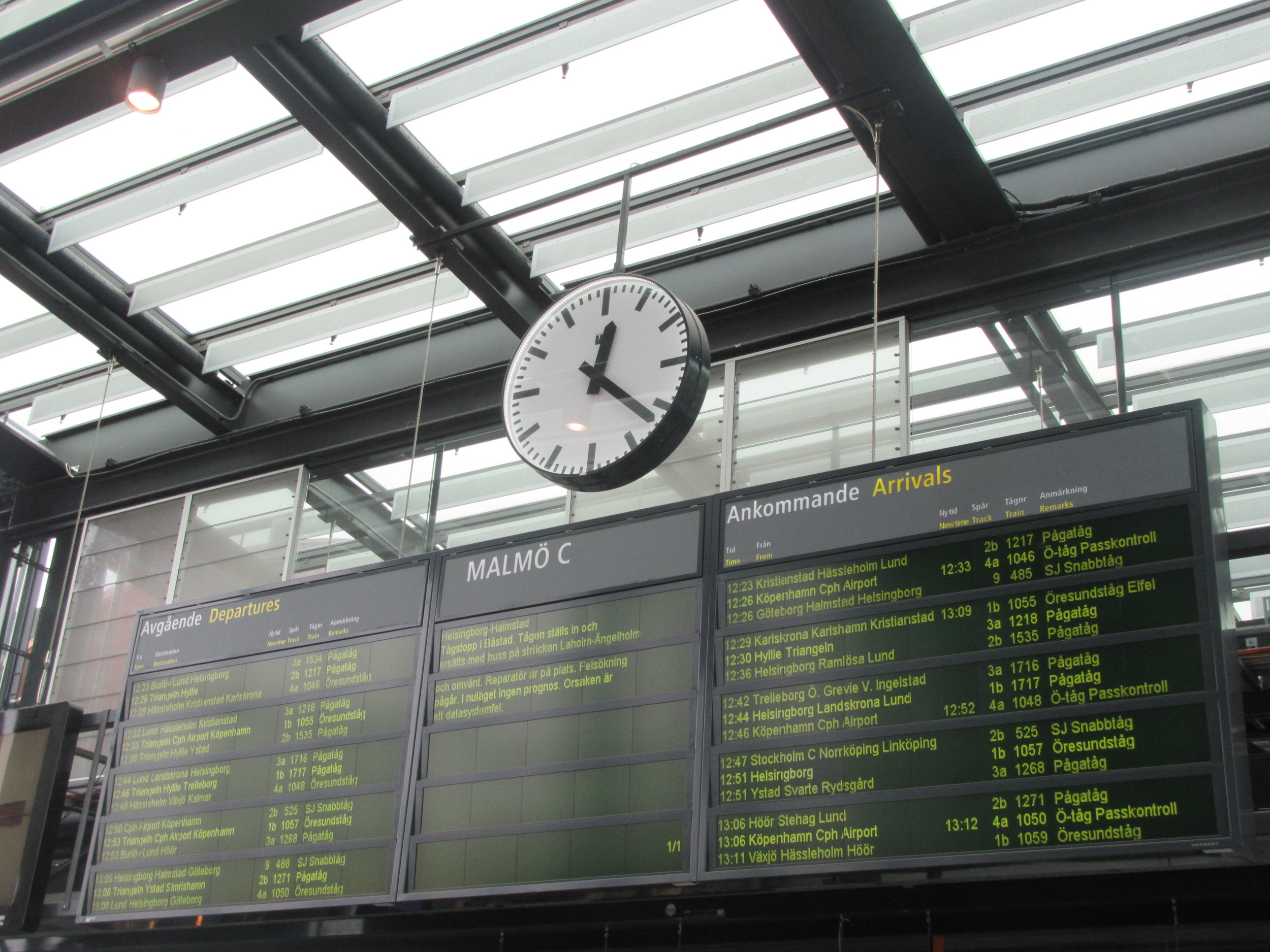 Malmo-Central-Train-Station