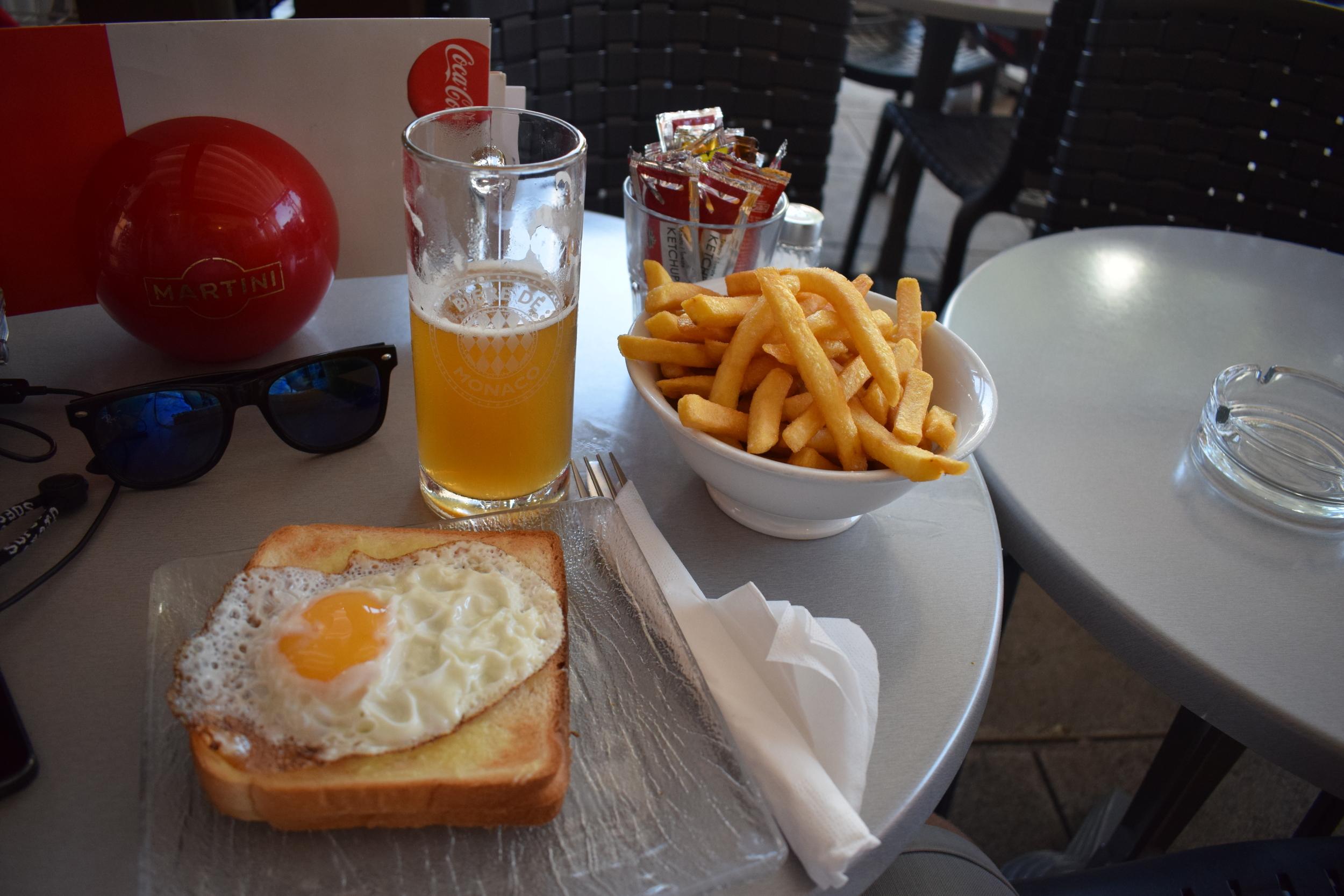 My order at La Pampa Bar.