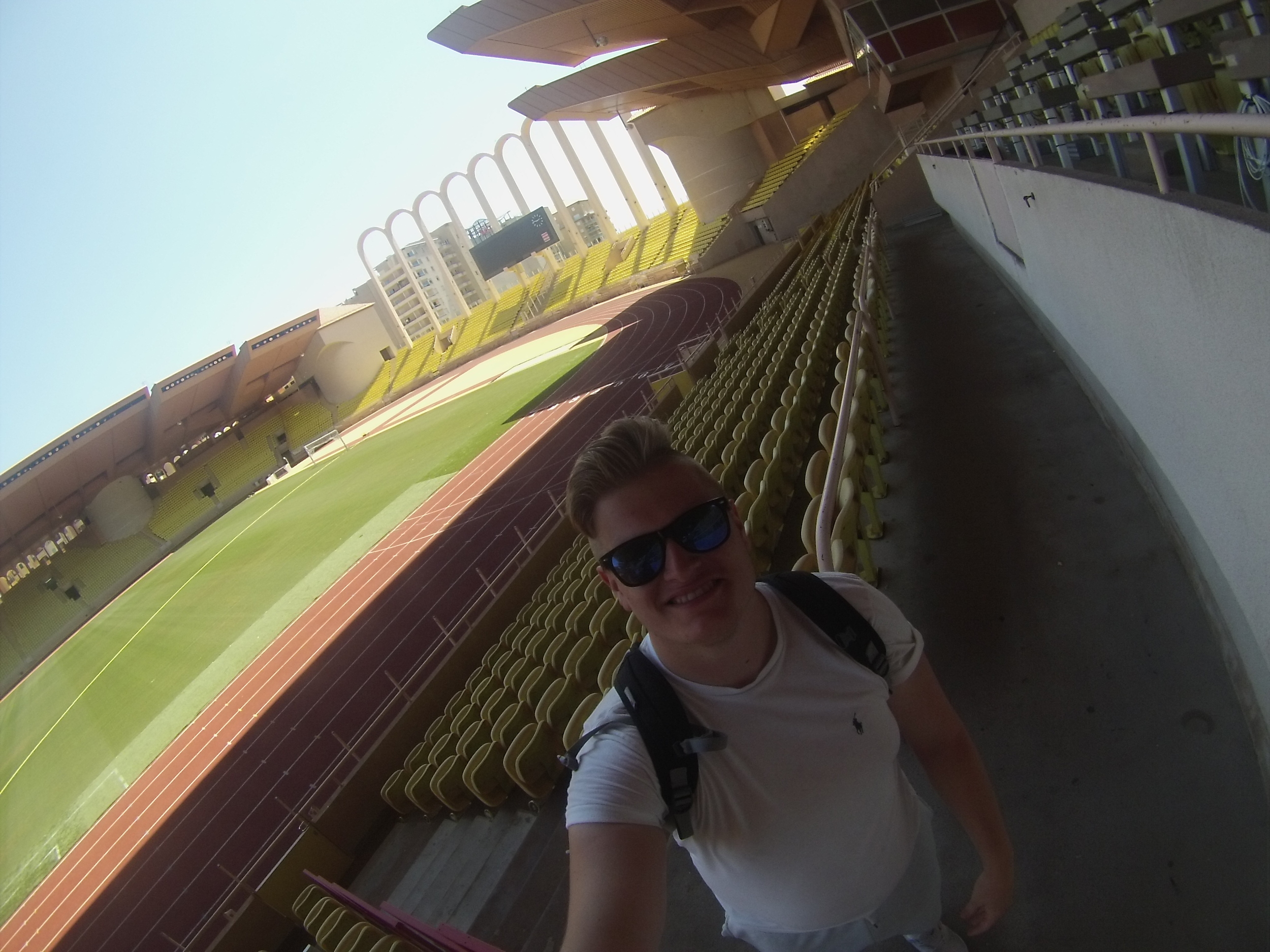 I loved visiting Stade Louis II, even if the tour wasn't as thorough as others I've been on.