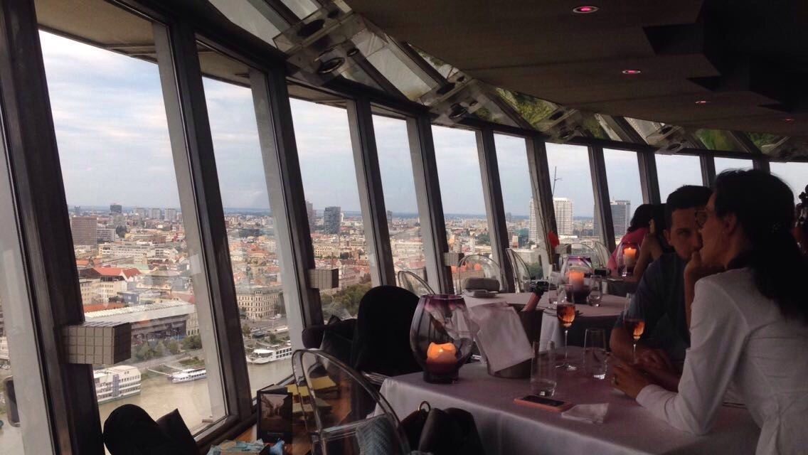 The UFO restaurant is a brilliant venue - but a restrictive and expensive menu lets it down.