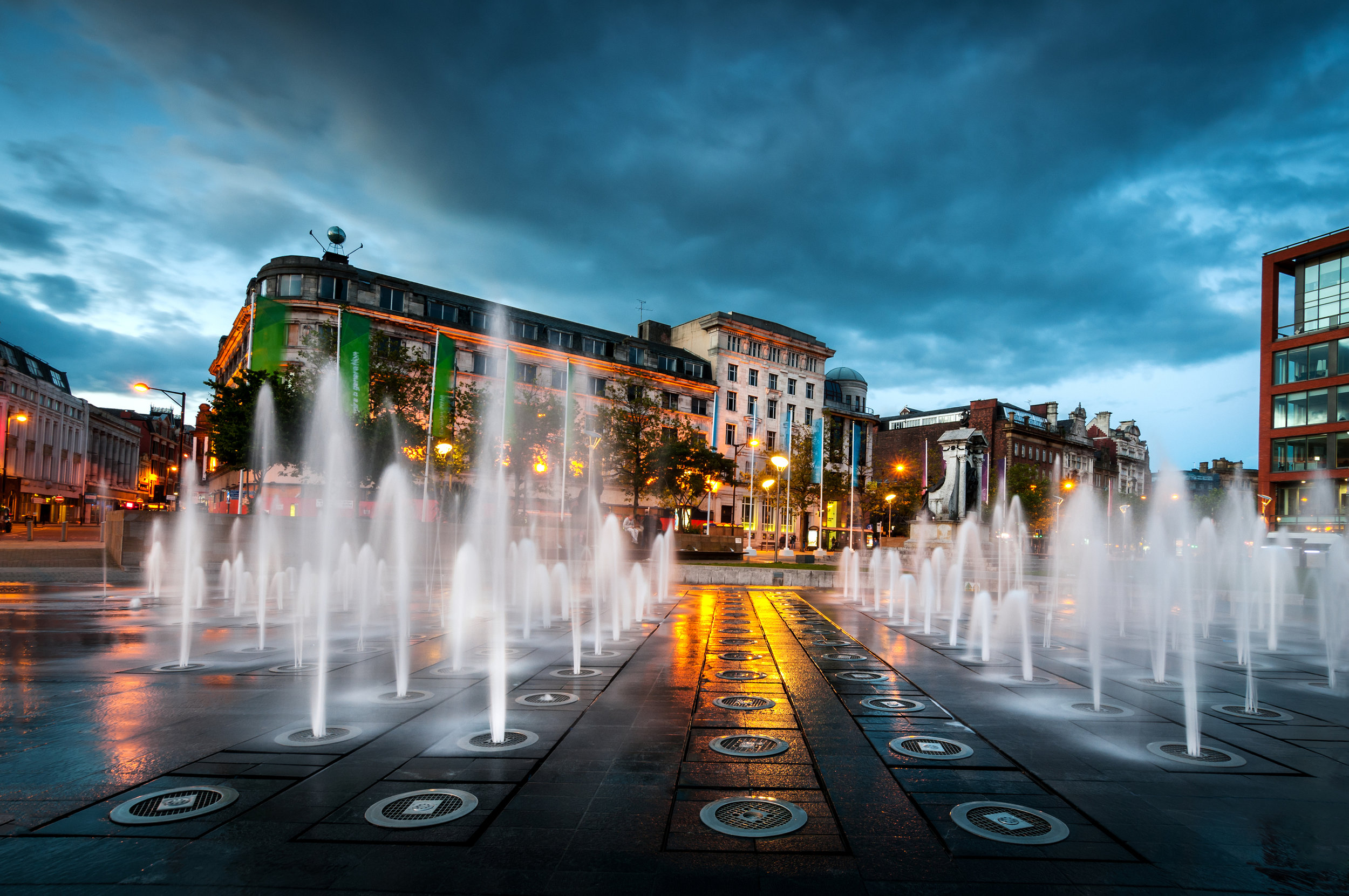 Manchester, unofficially the United Kingdom's second city, also features on the list.