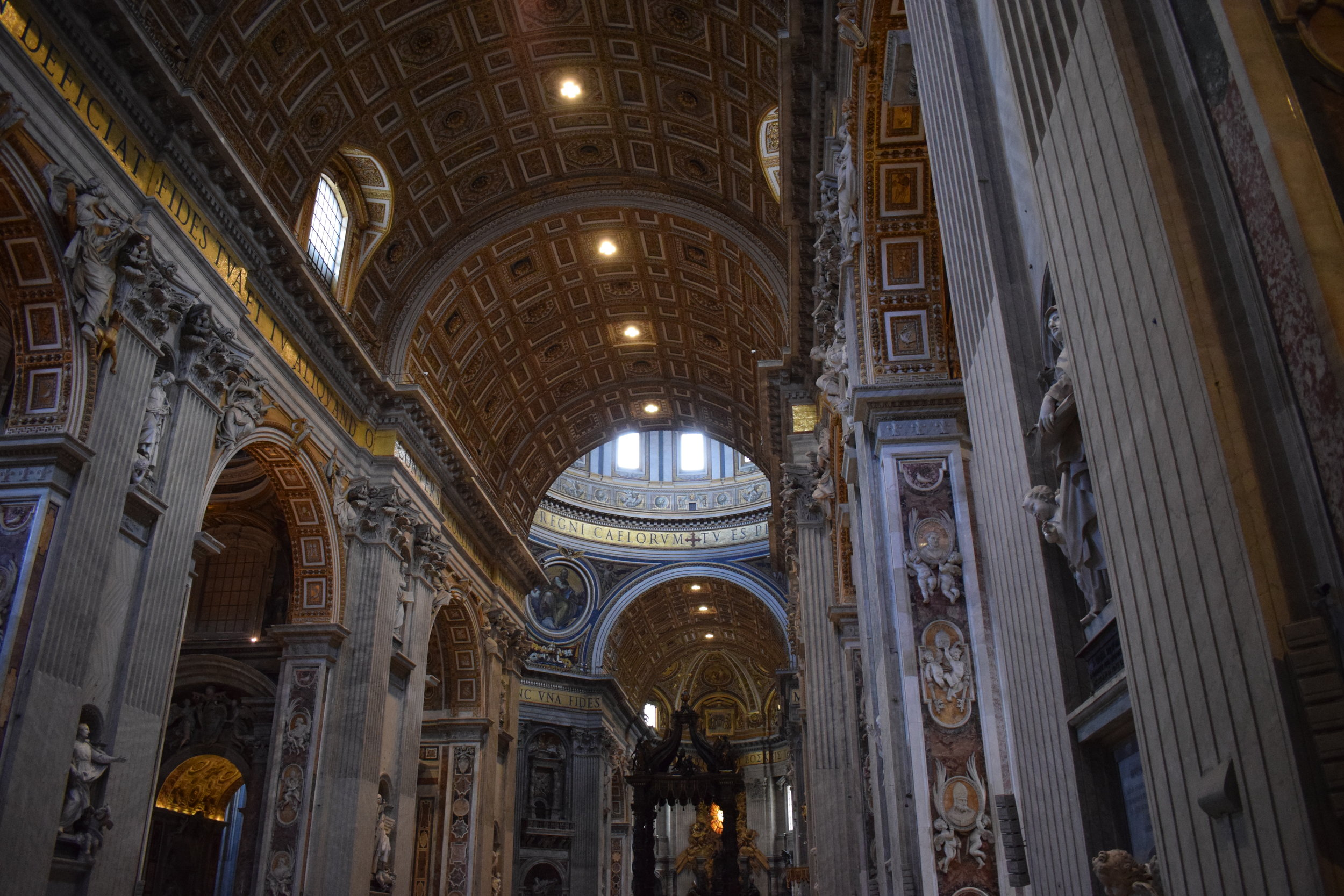 St Peter's Basilica is truly a sight to behold, and another one of its plus-points is that entry is free!