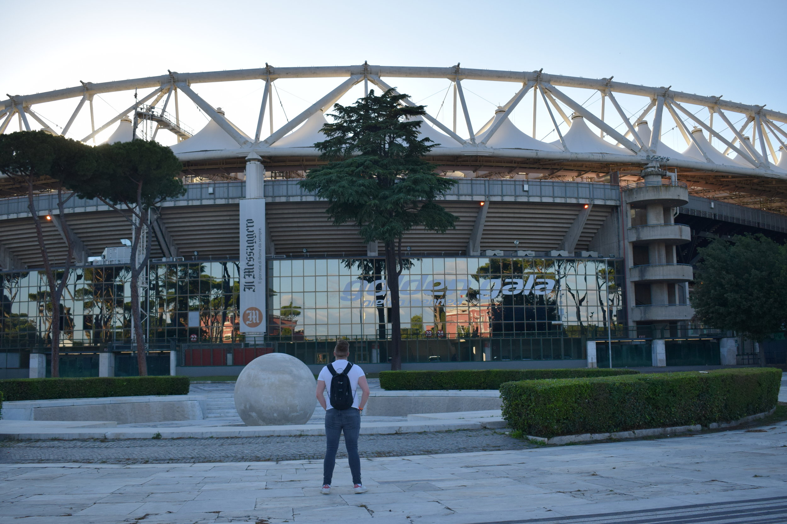 Next time I'm at the Stadio Olimpico, I'll be watching AS Roma in action!