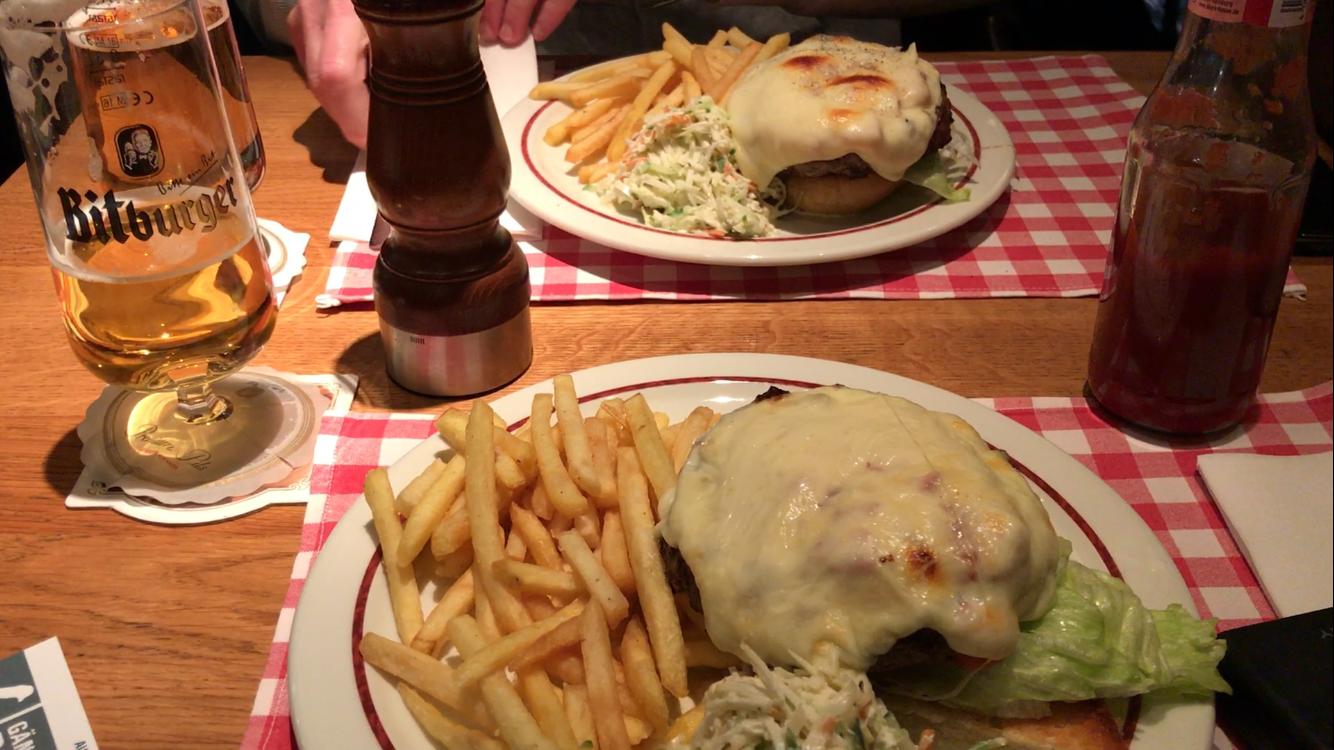 Our cheeseburgers at    Block House Hamburg   .