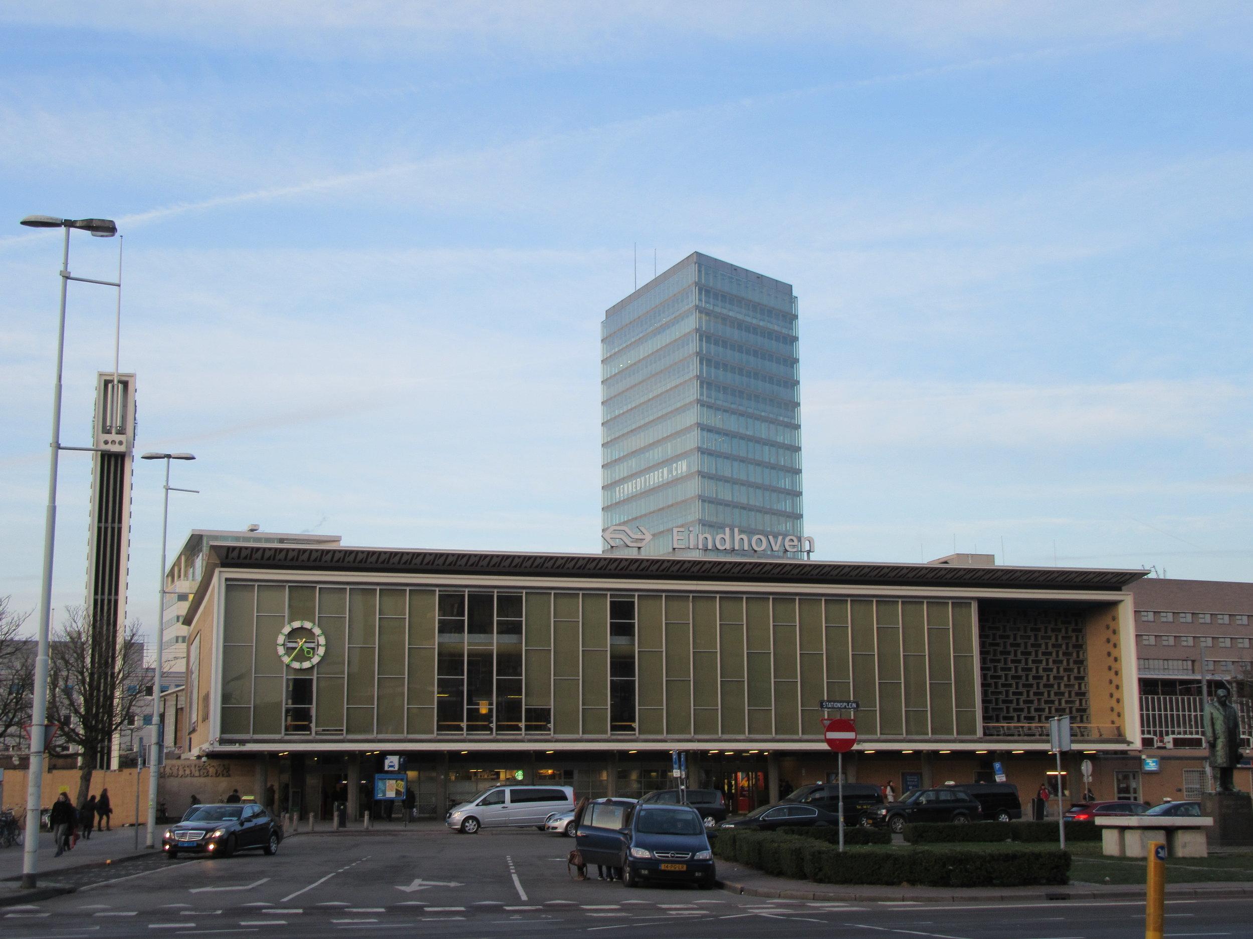 Eindhoven bus station.