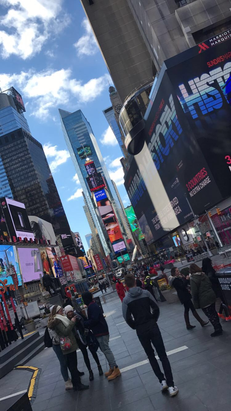 "Also known as ""the Crossroads of the World,"" Times Square can, and should, be seen on foot."