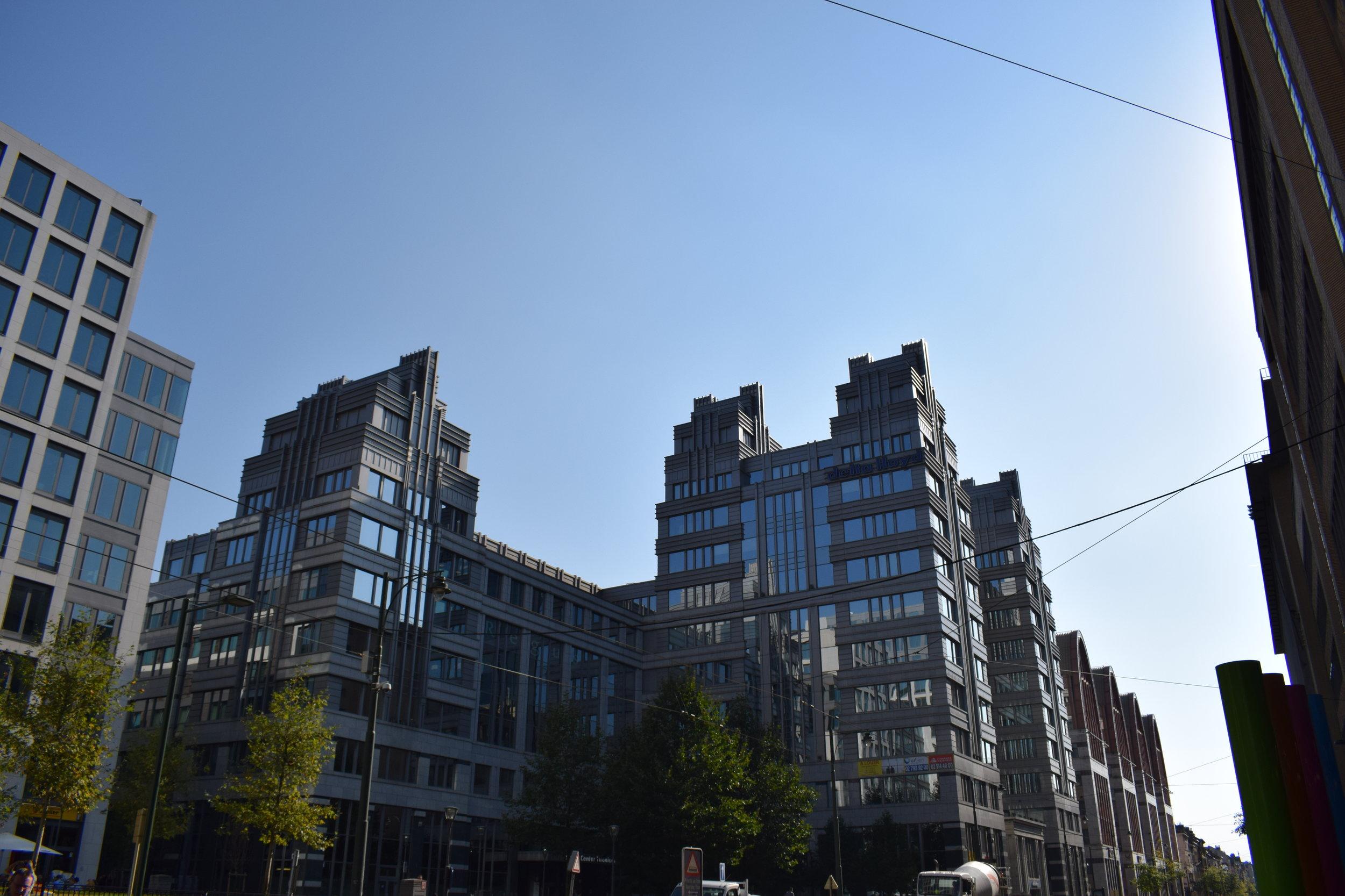 Brussels-Belgium-Modern-Buildings