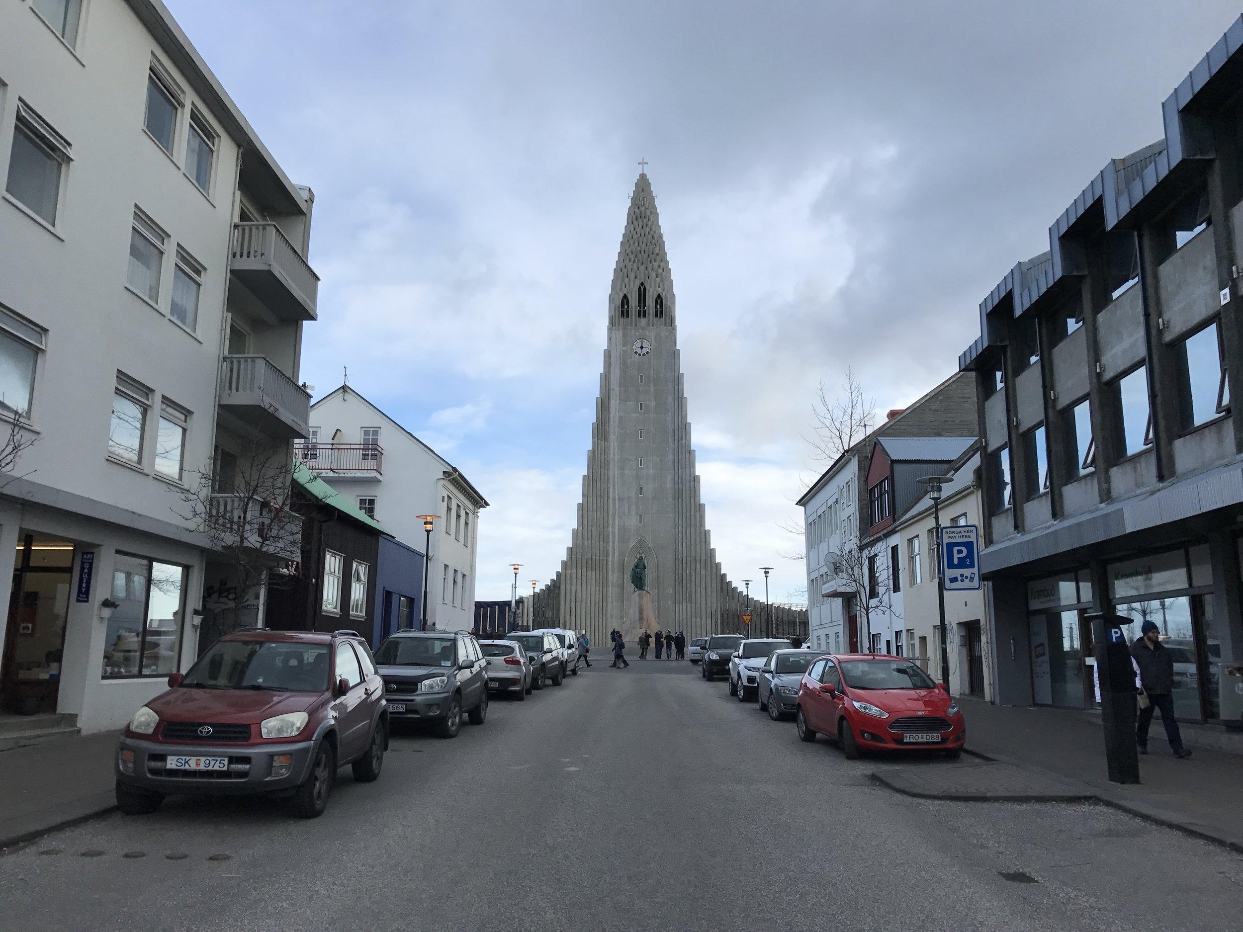 Hallgrimskirkja-Reykjavik-Iceland