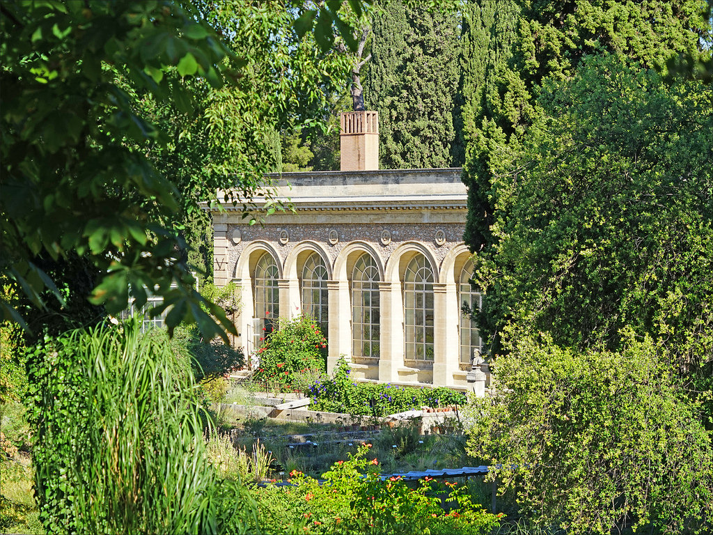 Montpellier's stunning Jardins des Plantes. Image credit: gpluxurycarhire.com