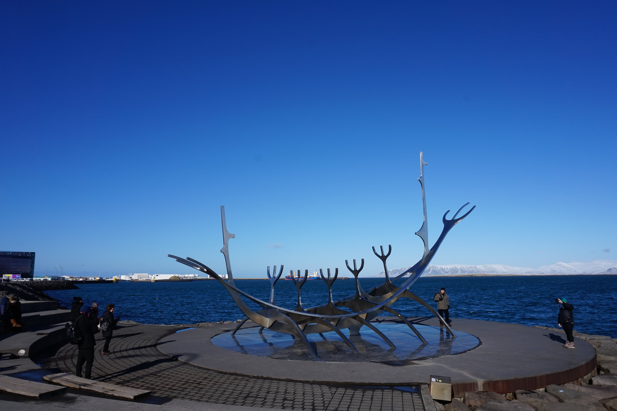 The Solfar (Sun Voyager) Sculpture on Reykjavik's waterfront is a free attraction in the city, and wouldn't be out of place on a budget itinerary.