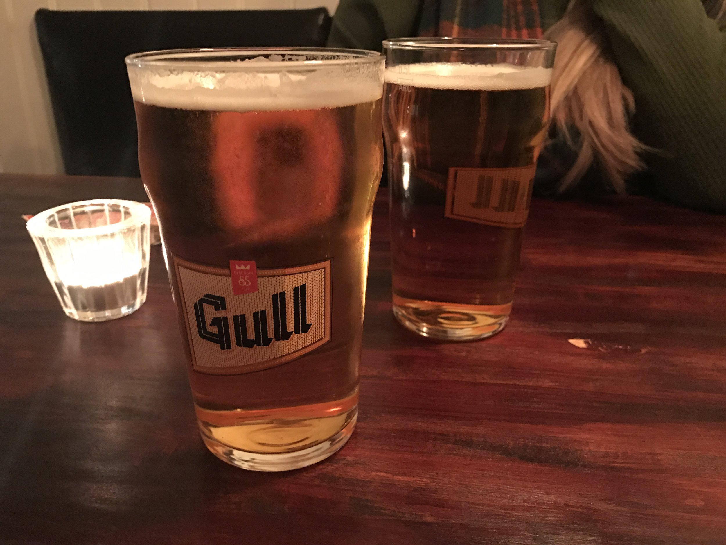 Half litres of Gull are available on the cheap at A Bar on Laugavegur from 22:00-02:00.