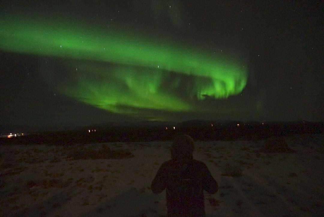 Seeing the Northern Lights was a dream come true.