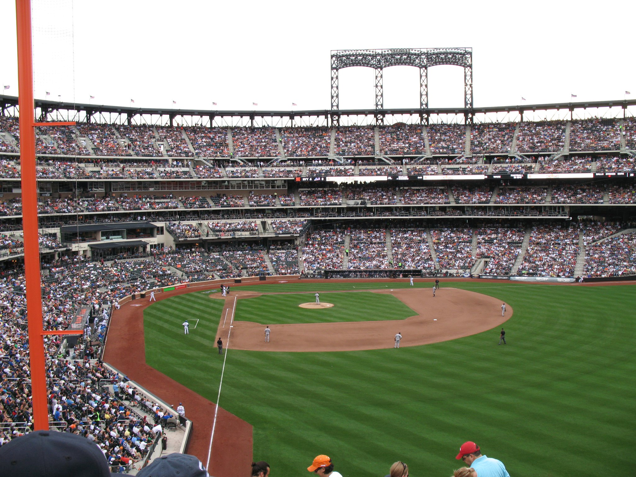 My first baseball game, where I saw my New York Yankees defeat crosstown rivals the New York Mets 5-2 at the Mets' stadium, Citi Field.