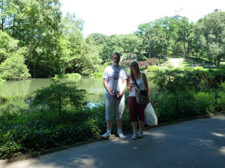 Me and my Mum in Central Park on my first trip to New York City back in July 2011.