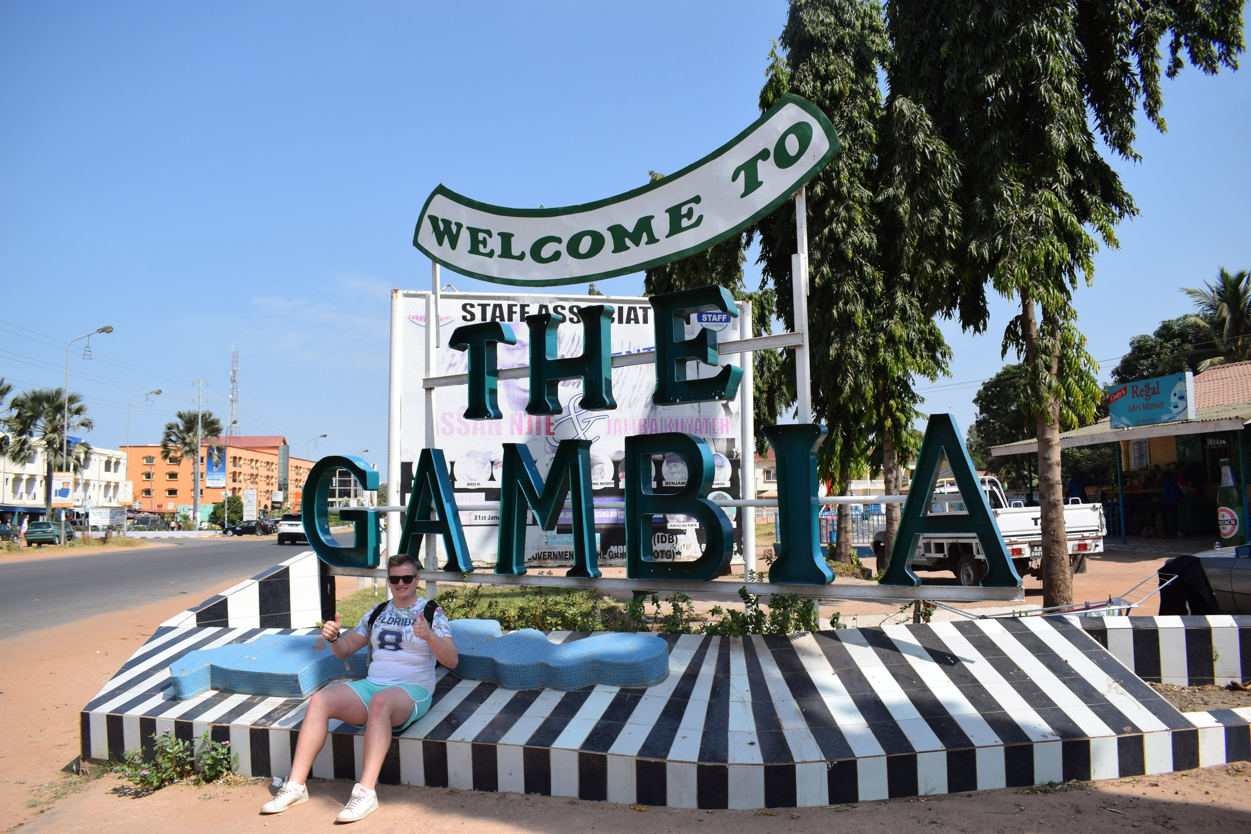 The-Gambia-Welcome-Sign-Africa
