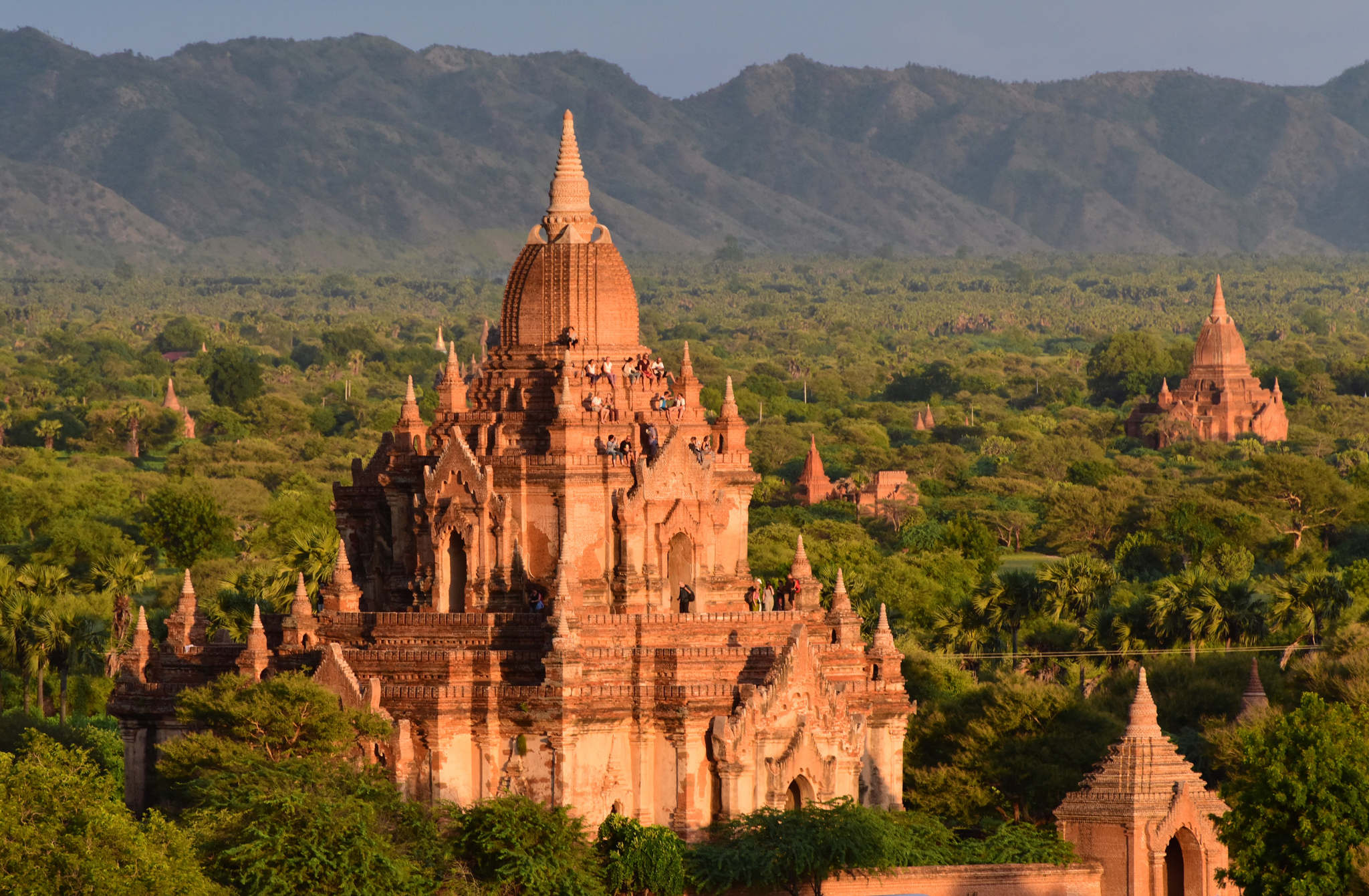 Tourists will soon be forbidden from climbing pagodas like this in Myanmar.