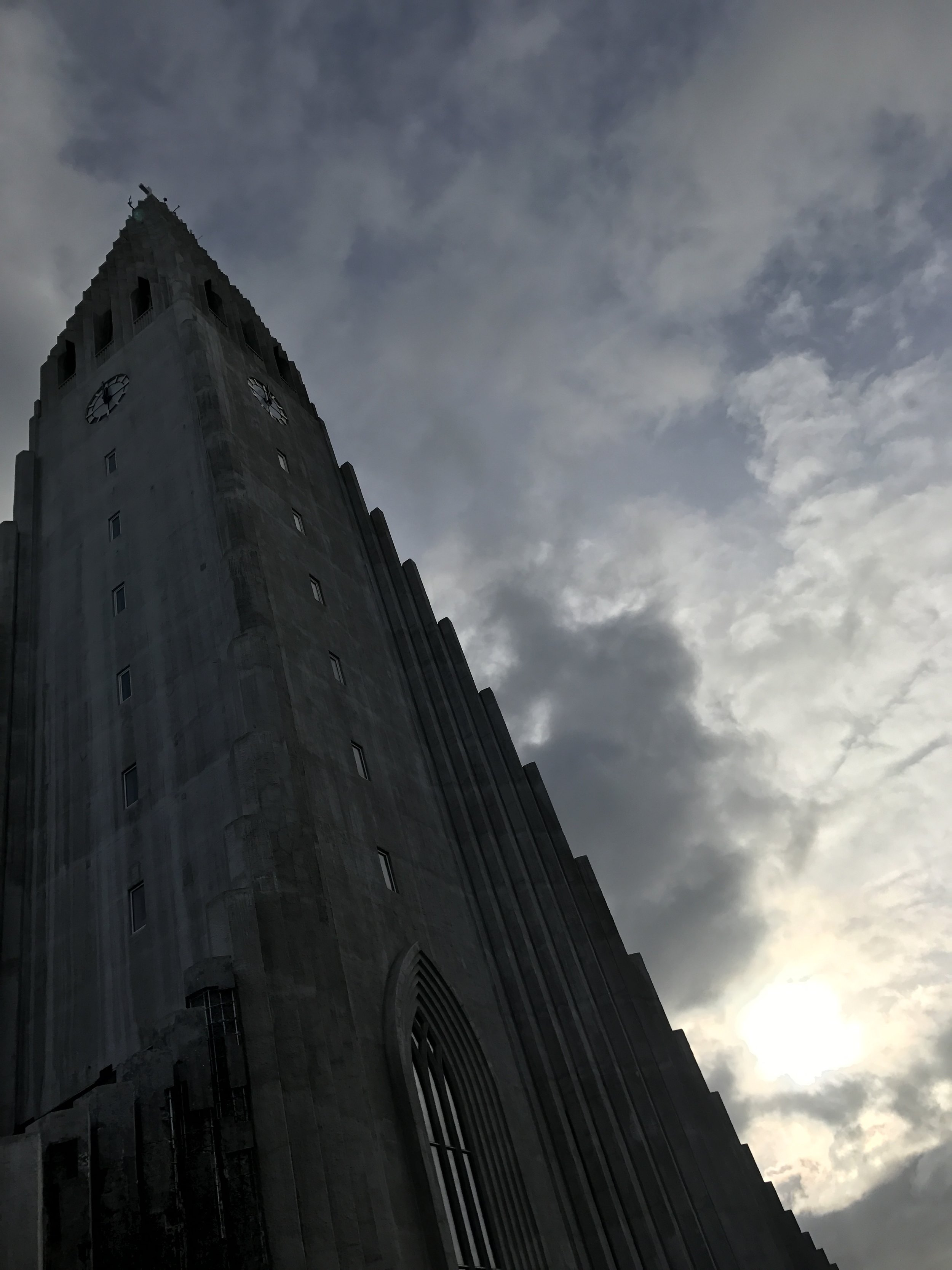 Hallgrímskirkja is one of Iceland's most famous buildings.