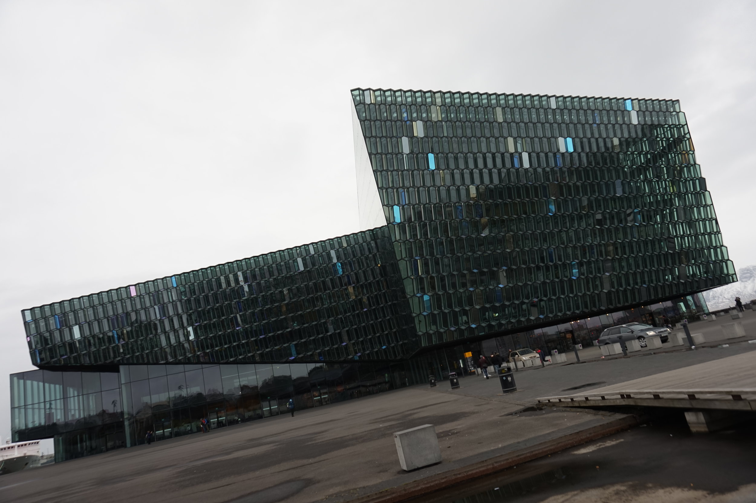 Harpa is a fine piece of Icelandic architecture.