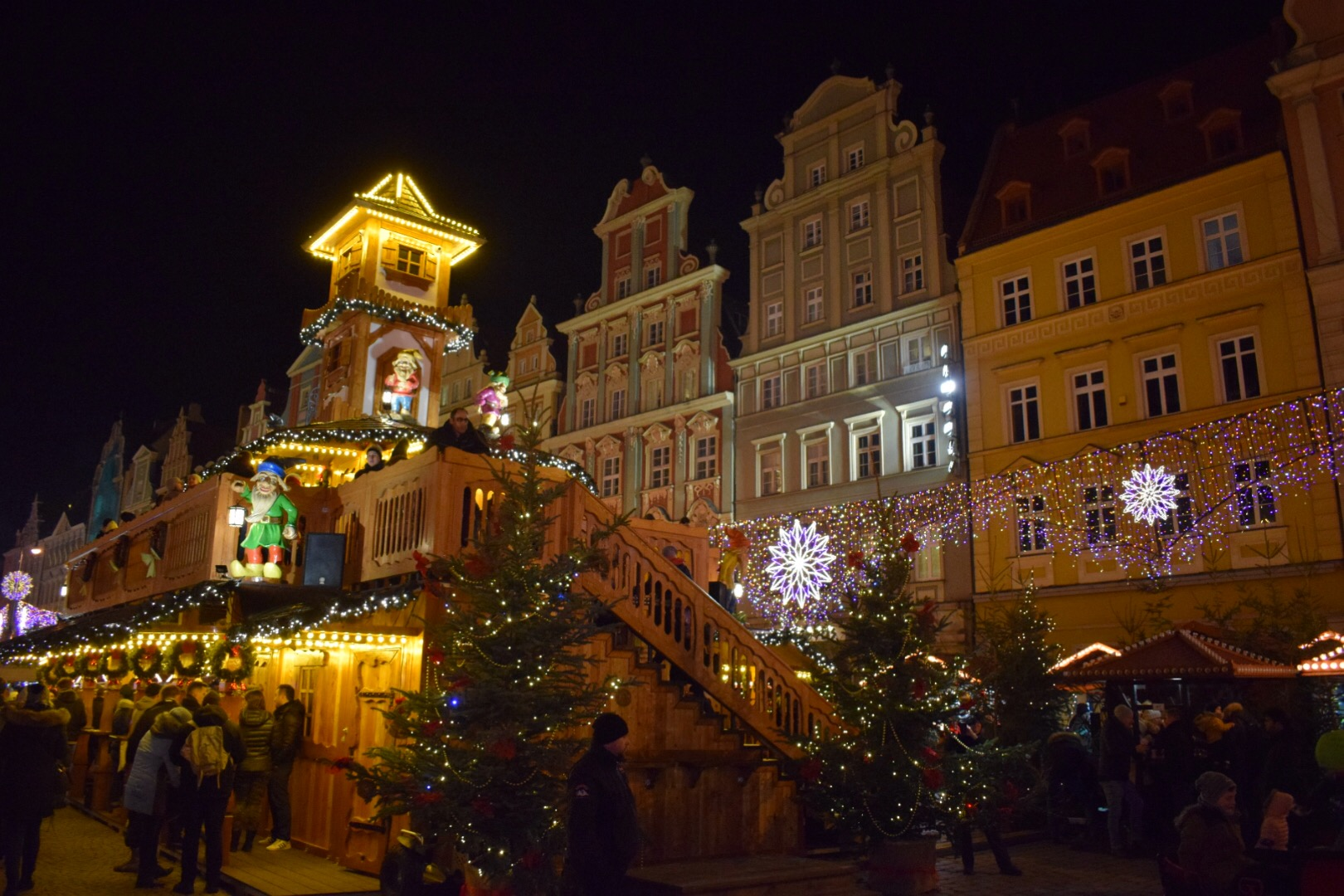 Market Square annually hosts one of Europe's finest Christmas markets.