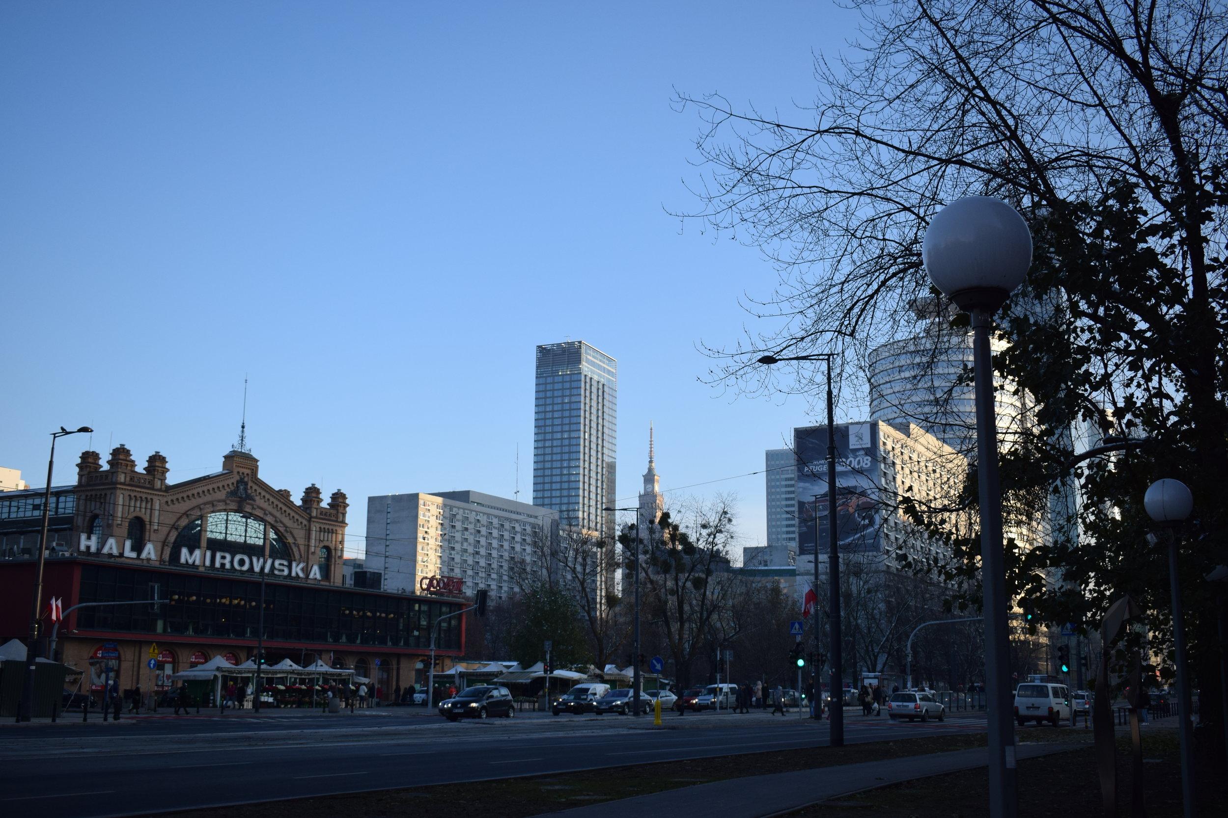 Warsaw-Central-Market-Street