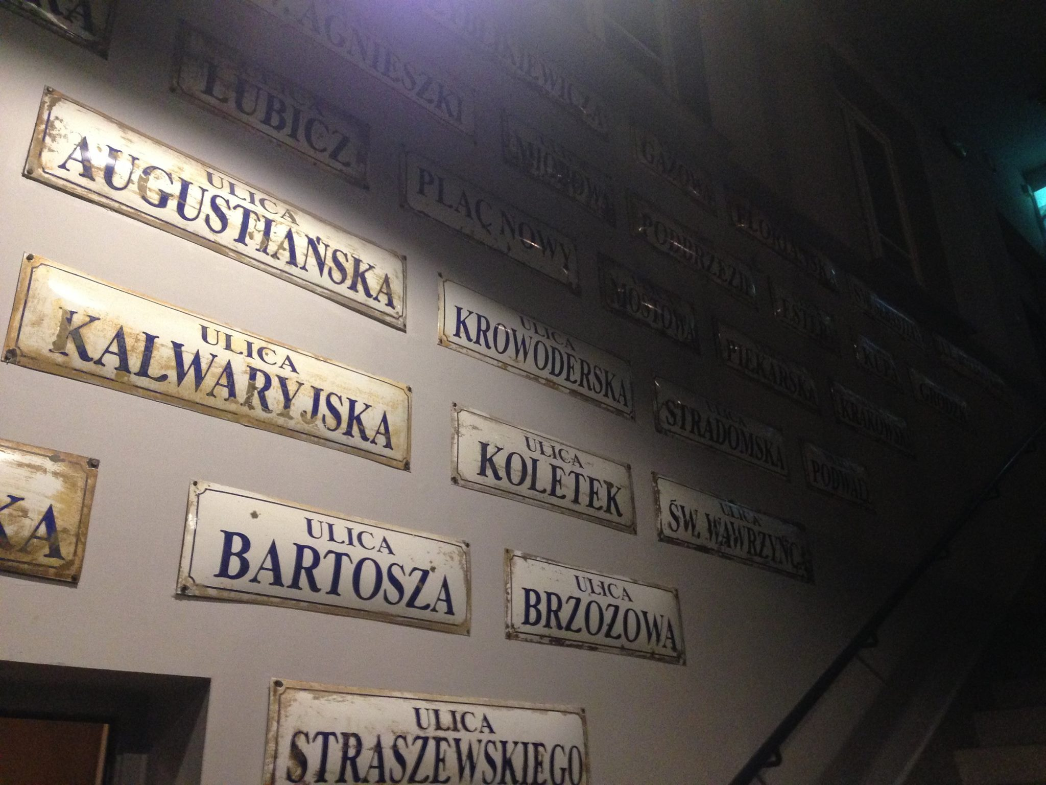 Polish-Street-Signs-Schindlers-Factory-Museum