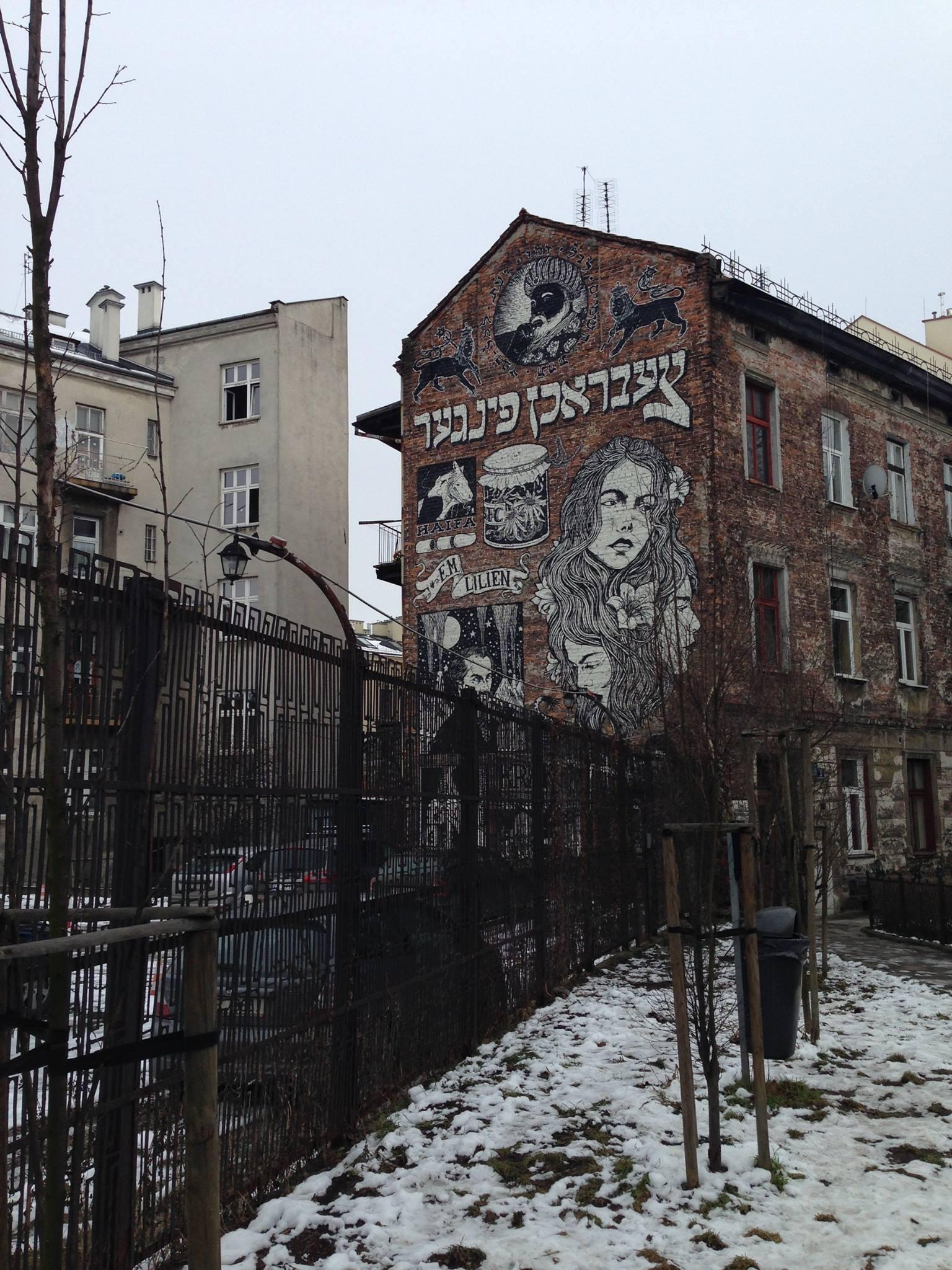 Kazimierz-Jewish-Quarter-Graffiti-Poland
