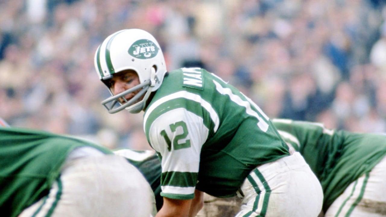 Jets quarterback Joe Namath led the team to victory at Super Bowl III in January 1969.