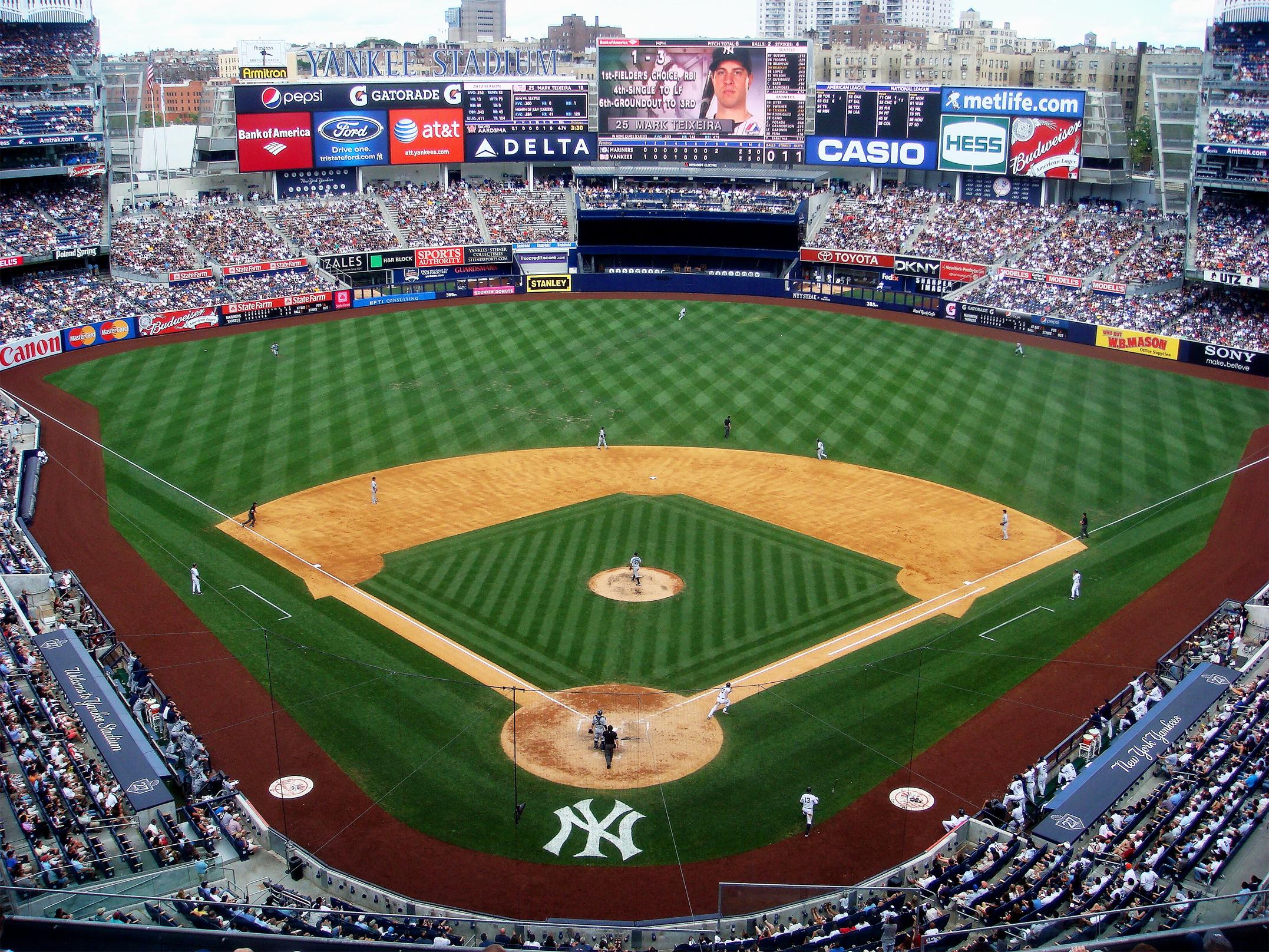 The New Yankee Stadium in 2010. Image credit:    Matt Boulton   /   Creative Commons