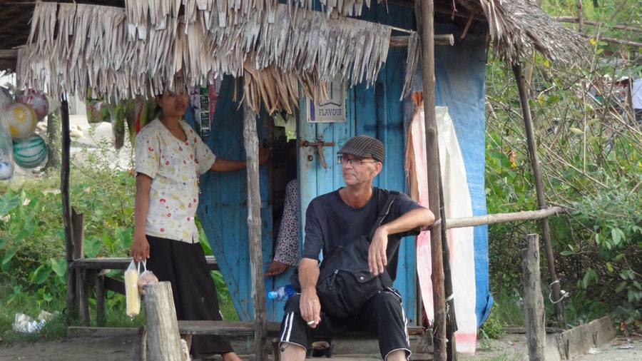 Kees Colijn (right) has come up with a unique approach to a part-time nomadic lifestyle. Image credit: Kees Colijn