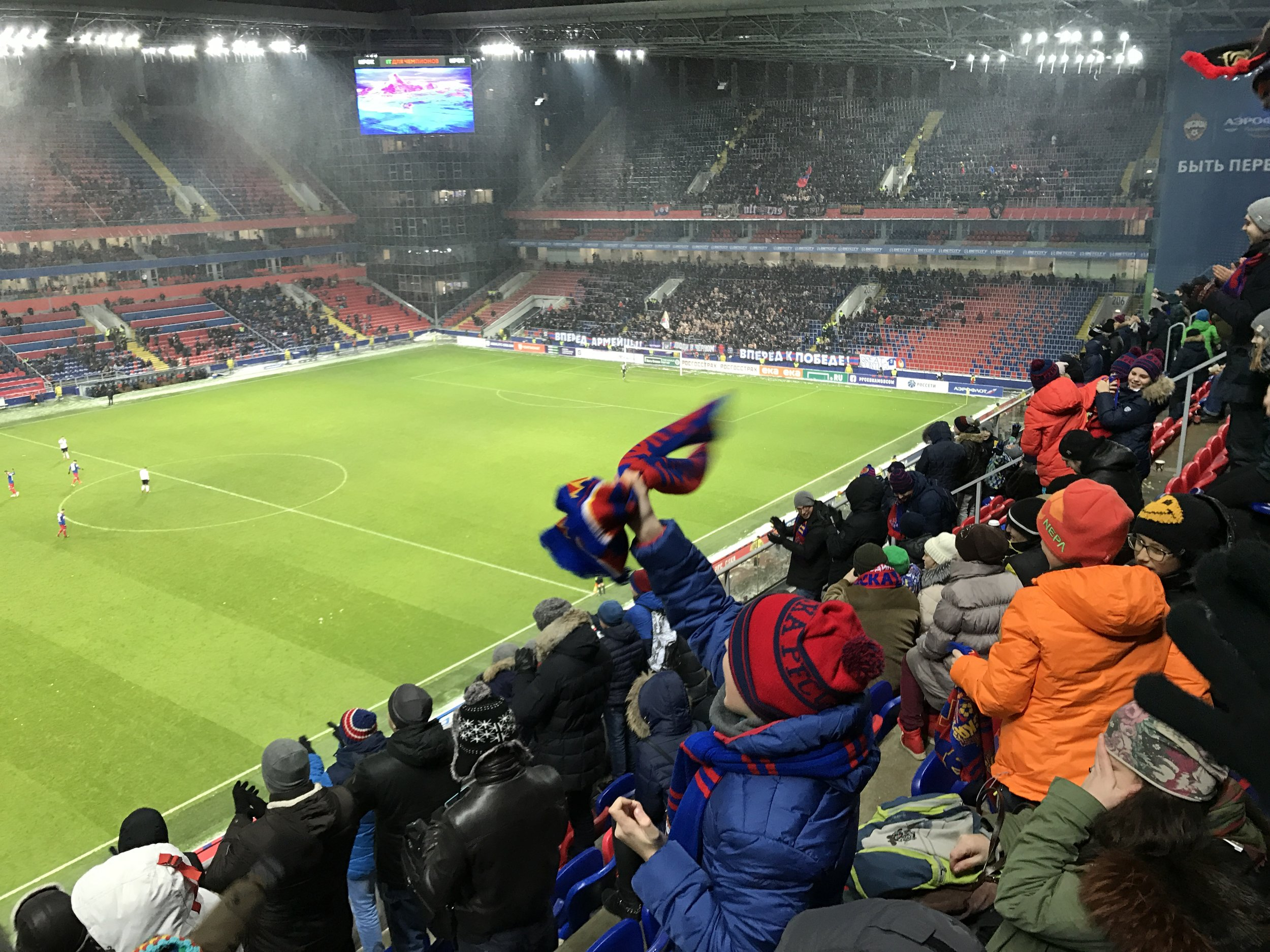 CSKA Moscow easily beat Tosno 6-0 in league competition, while also missing a penalty in the game.