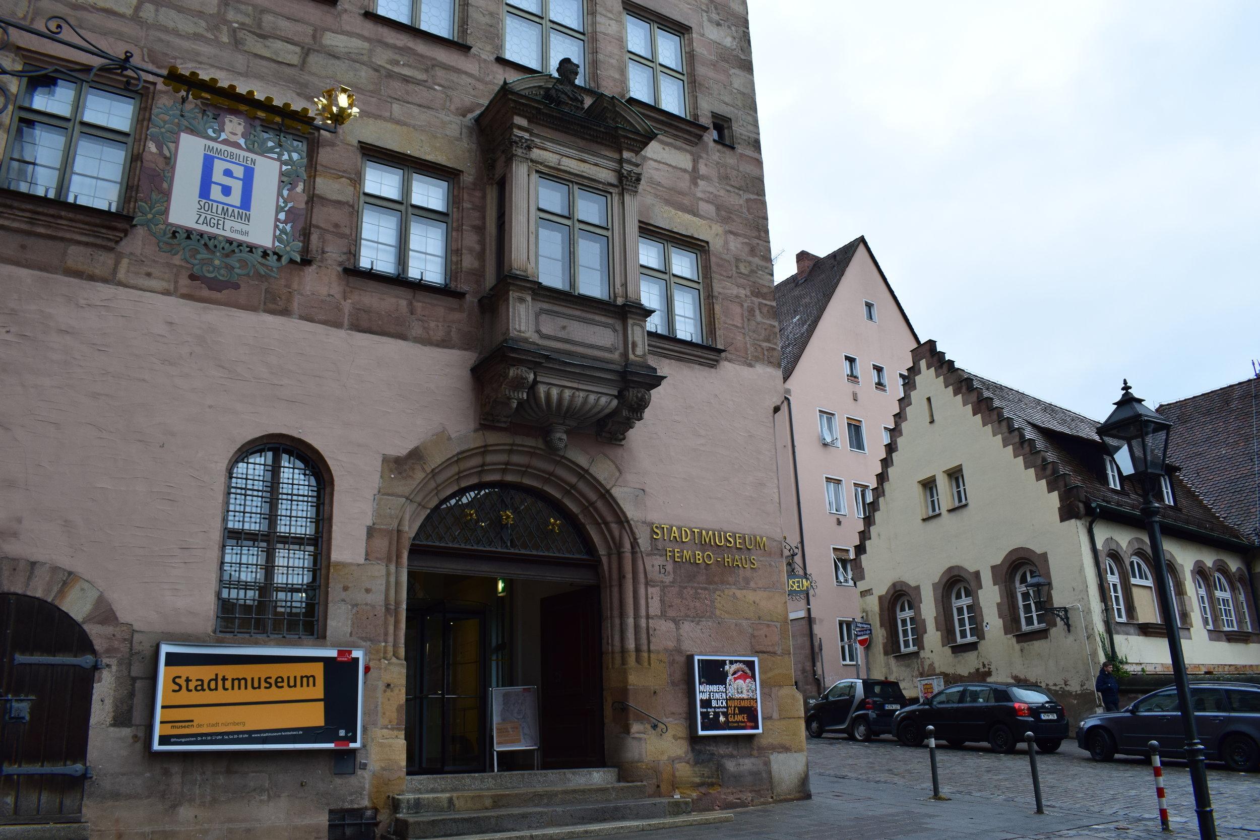 Stadtmuseum-Fembo-Haus-Nuremberg