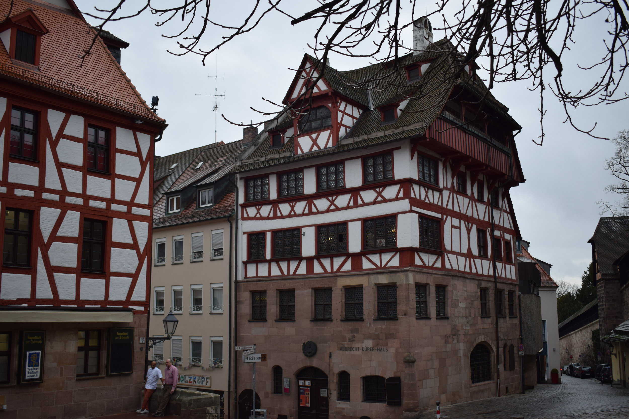 One of Nuremberg's most iconic shots, looking towards the former house of Albrecht Dürer.