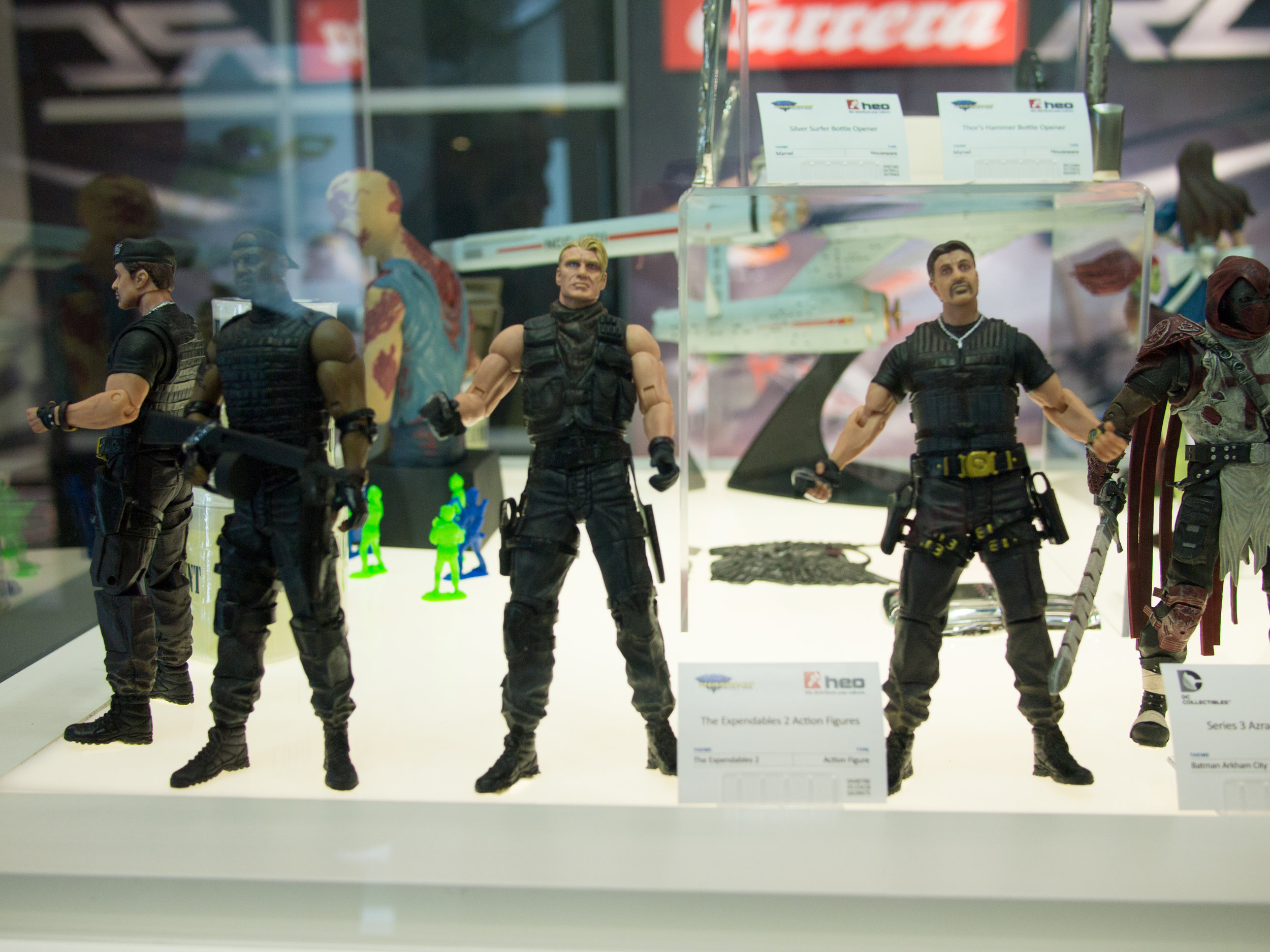 Action figures at Spielwarenmesse 2013. Image credit:    Crosa   /   Flickr