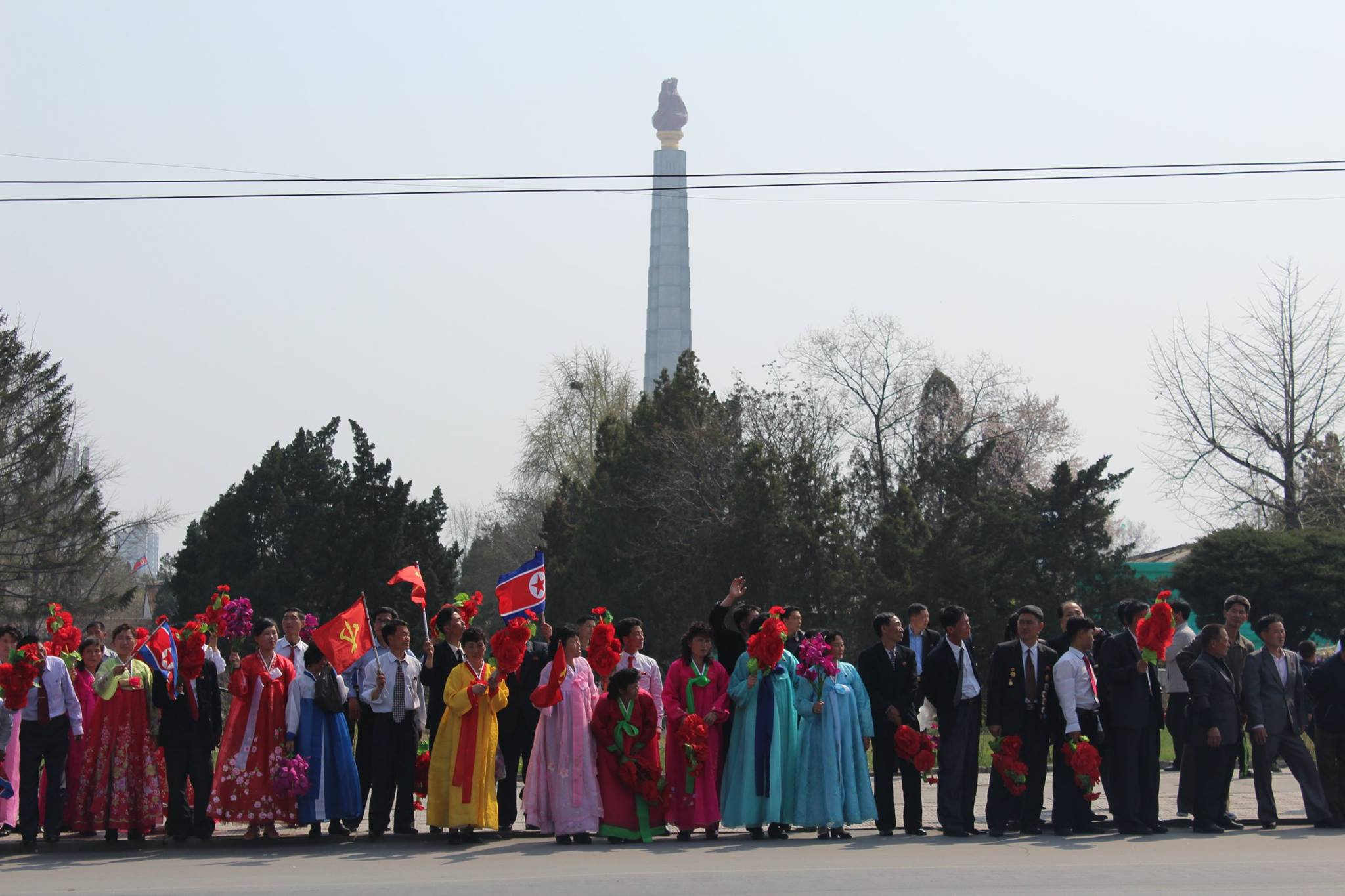 Lupine Travel's    tours to North Korea    give customers the chance to see festivals like this. Image credit:    Lupine Travel