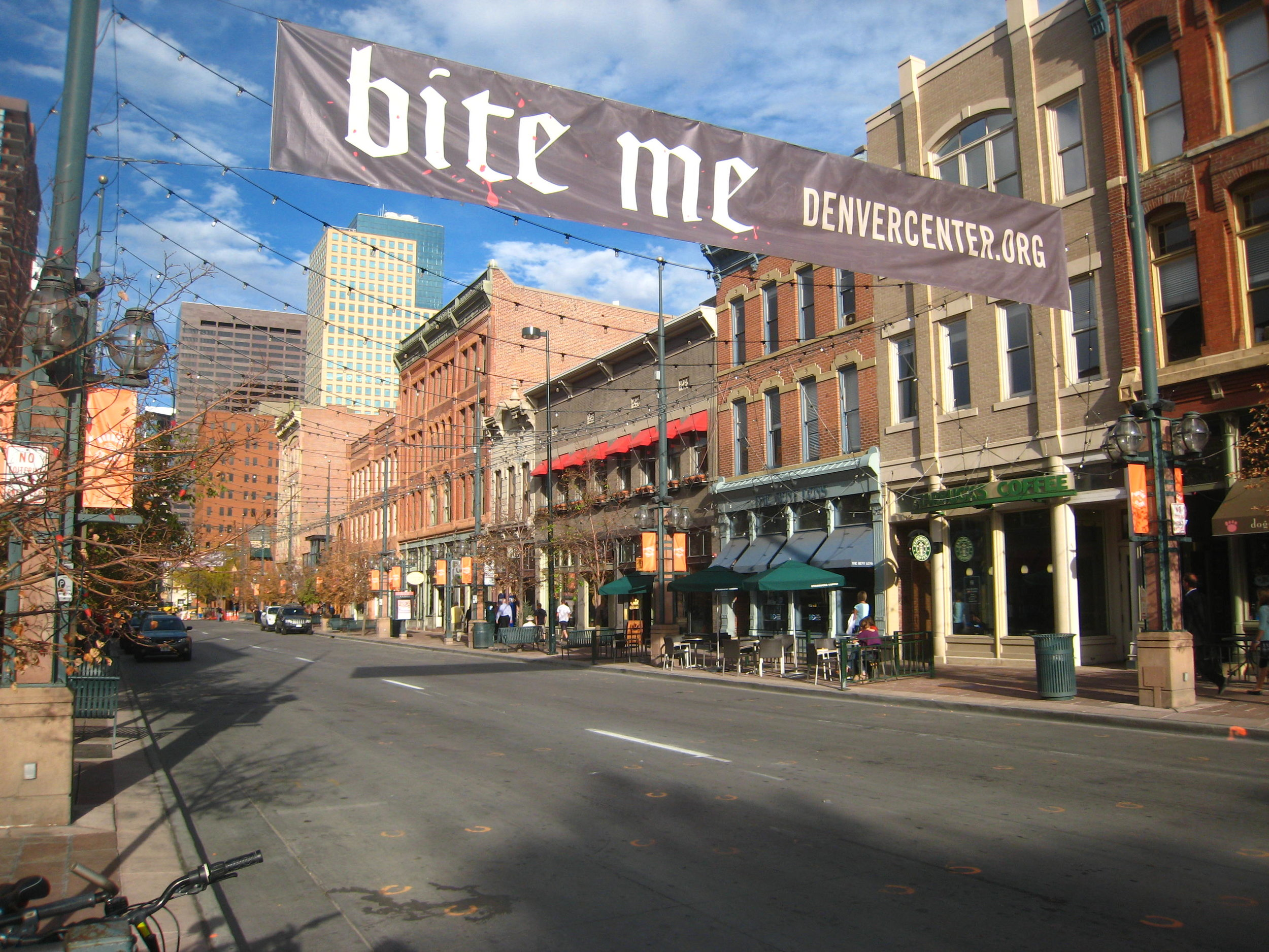 Larimer Square is also a popular spot for restaurants and bars. Image credit:  brotherlywalks / Creative Commons