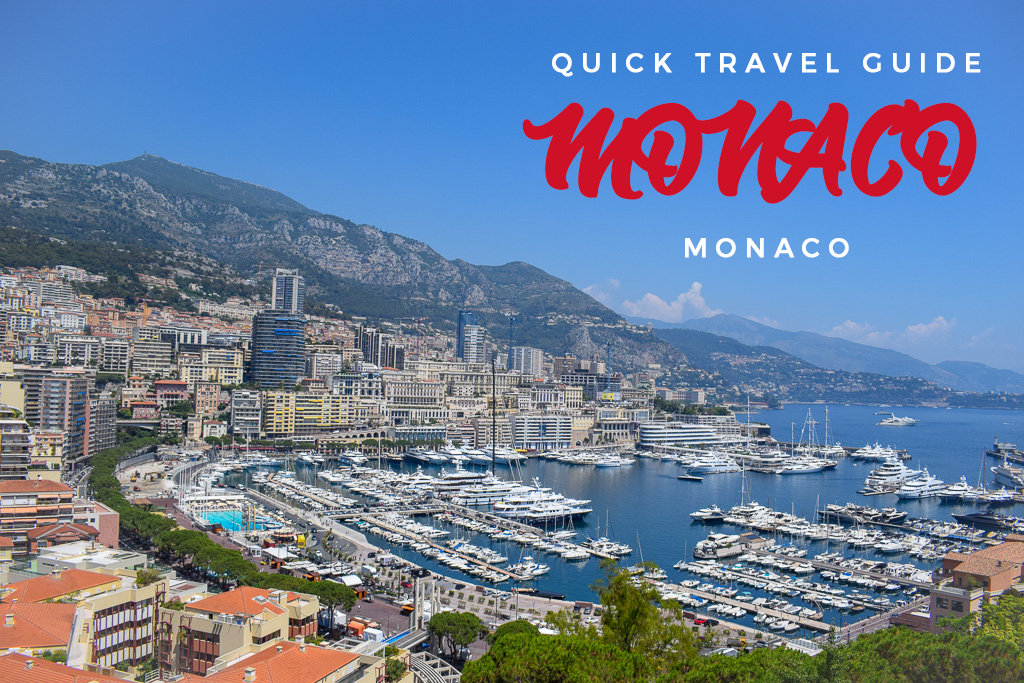 Quick Travel Guide Monaco Banner