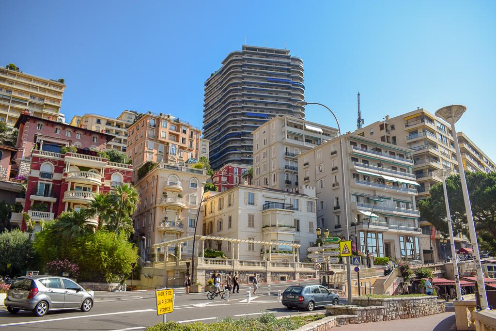 Monaco Street And Buildings