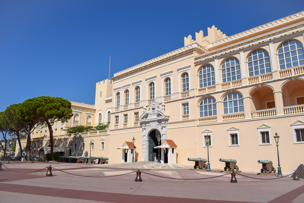 Part of Prince Albert II's Palace is open to the public.